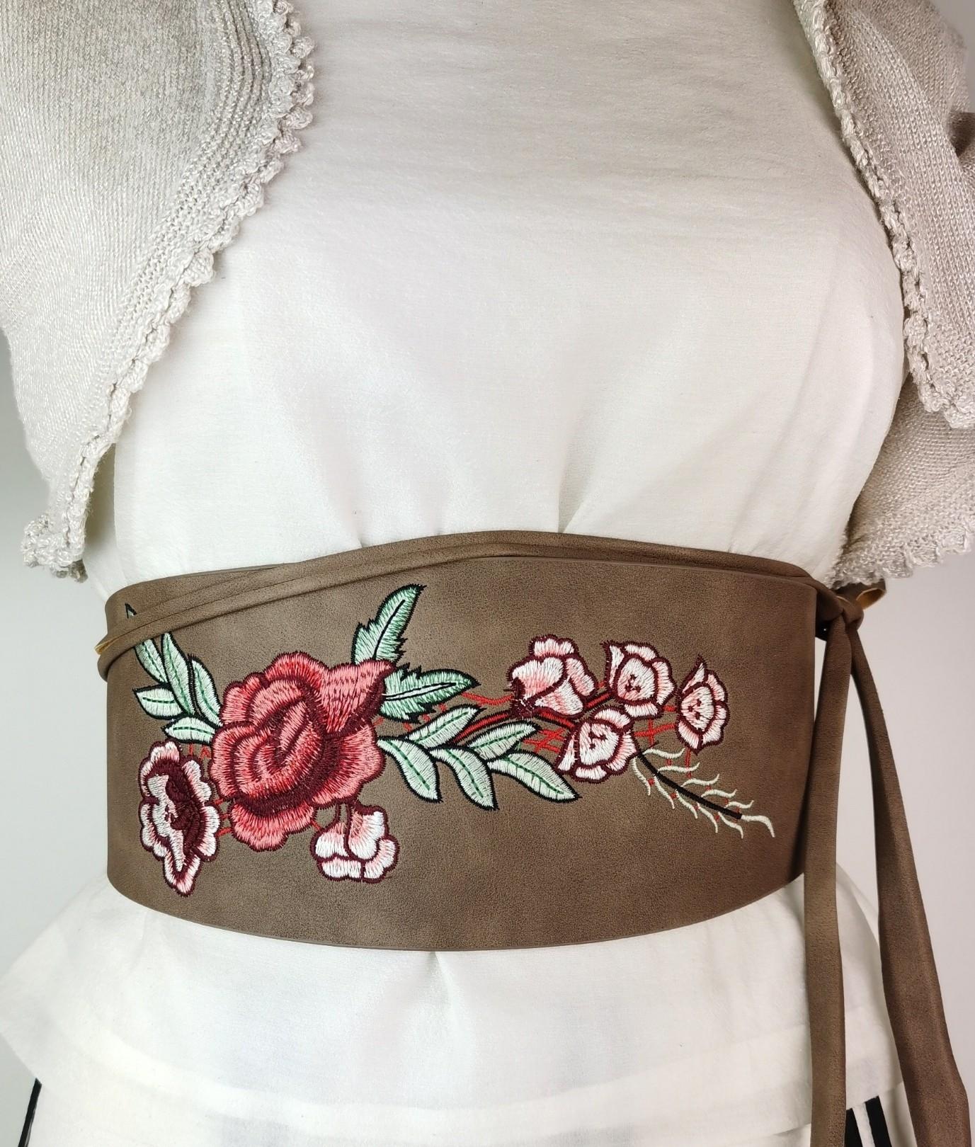 Cinturón Rosa - taupe