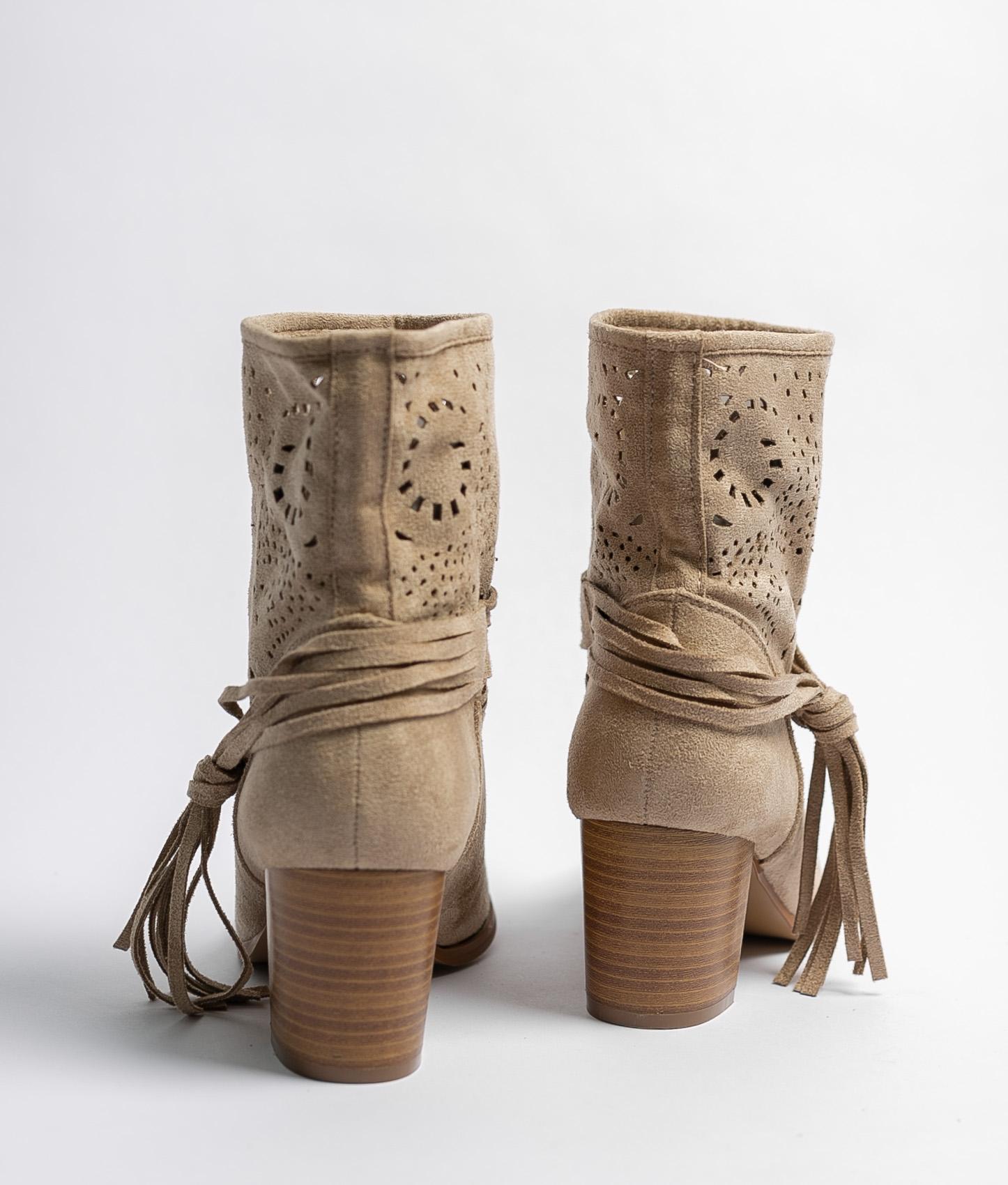 Mulia Low Boot - Beige