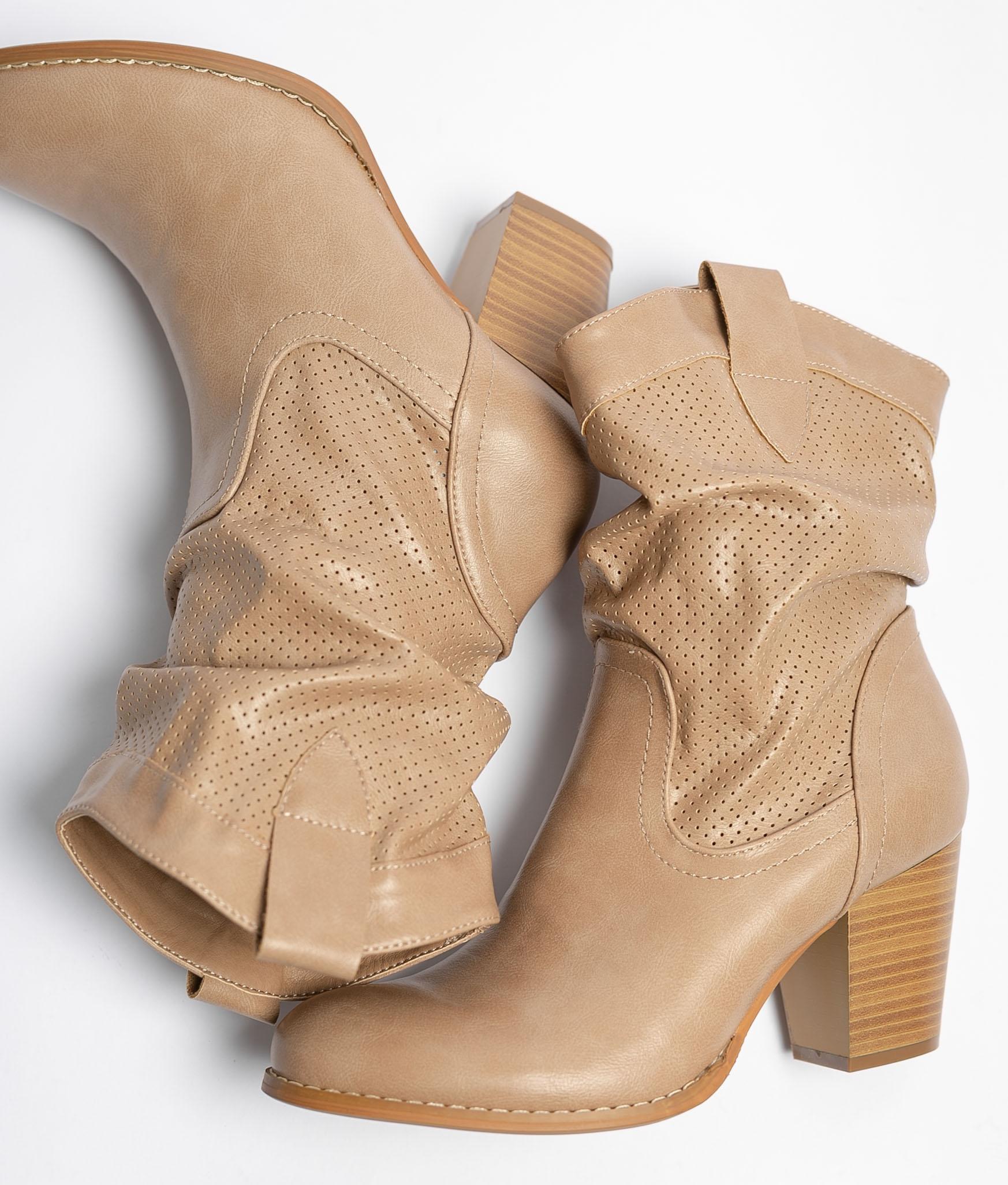 Boot Petite Ademia - Beige