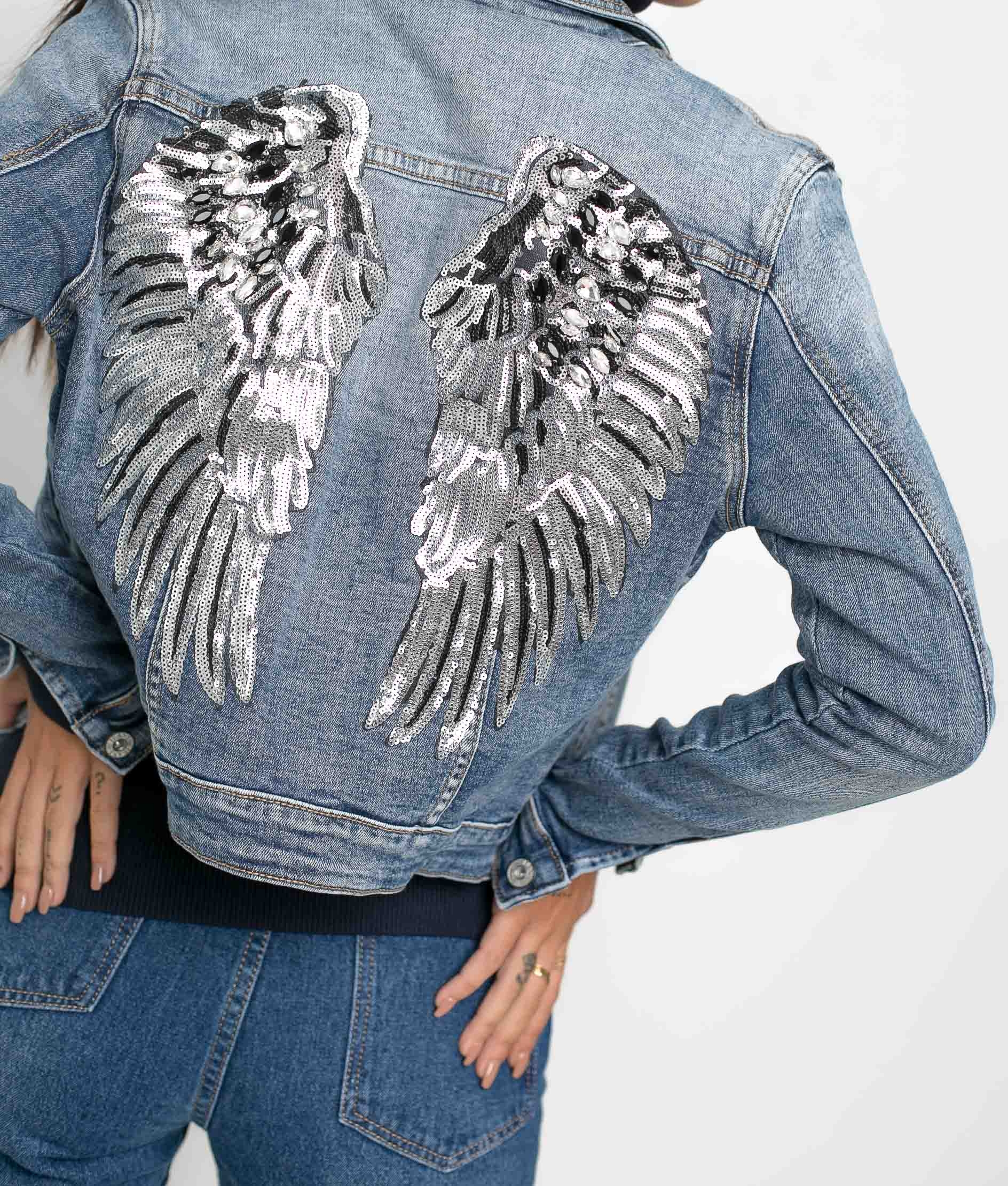 CHAQUETA ANTIOC - DENIM