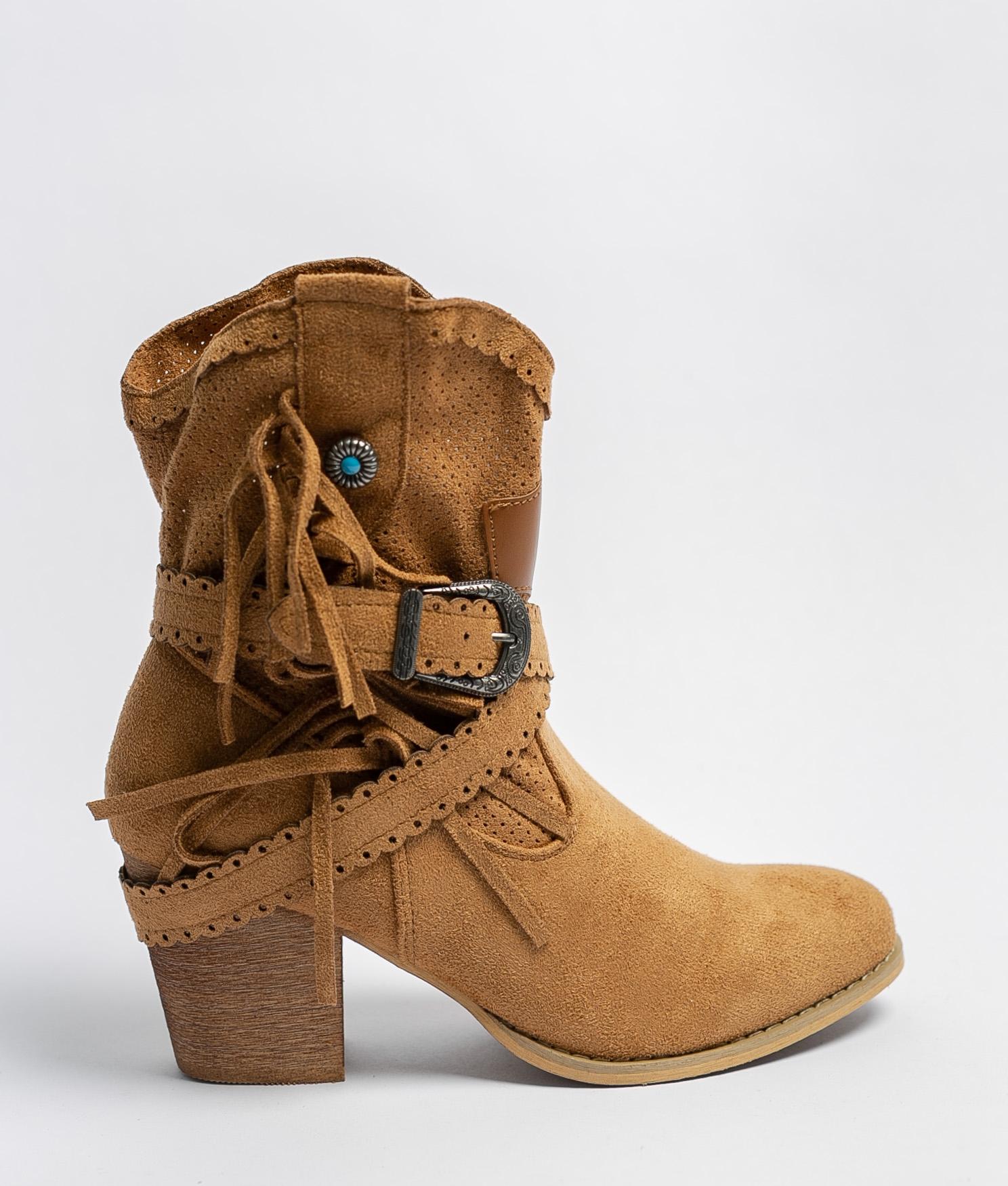 Bemus Low Boot - Camel