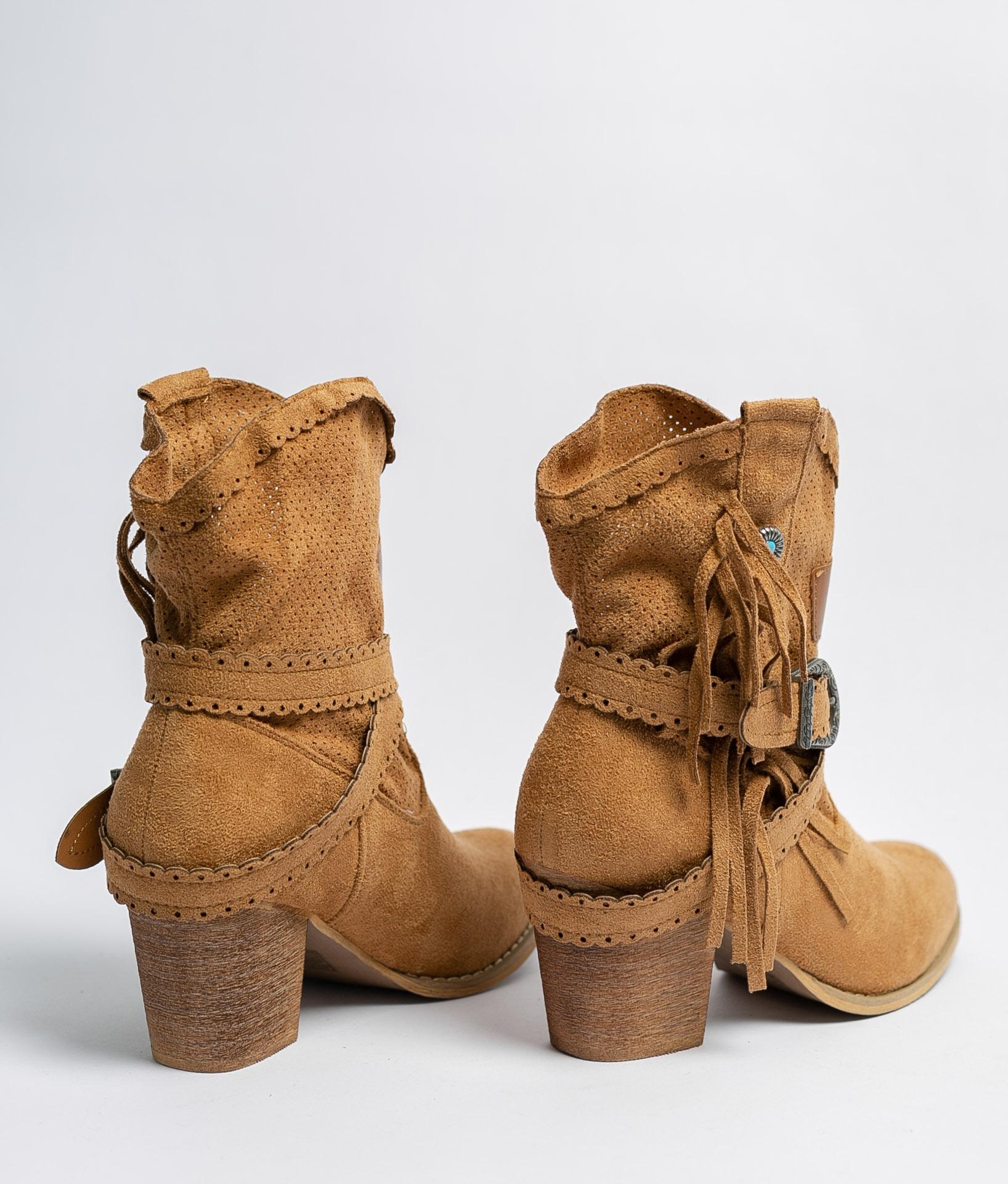 Bota Baixa Bemus - Camelo