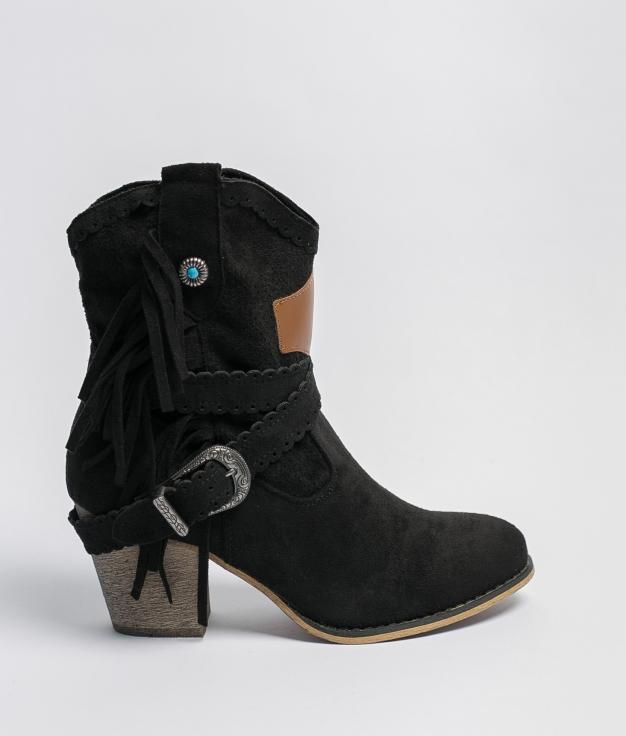 Bota Baja Bemus - Negro