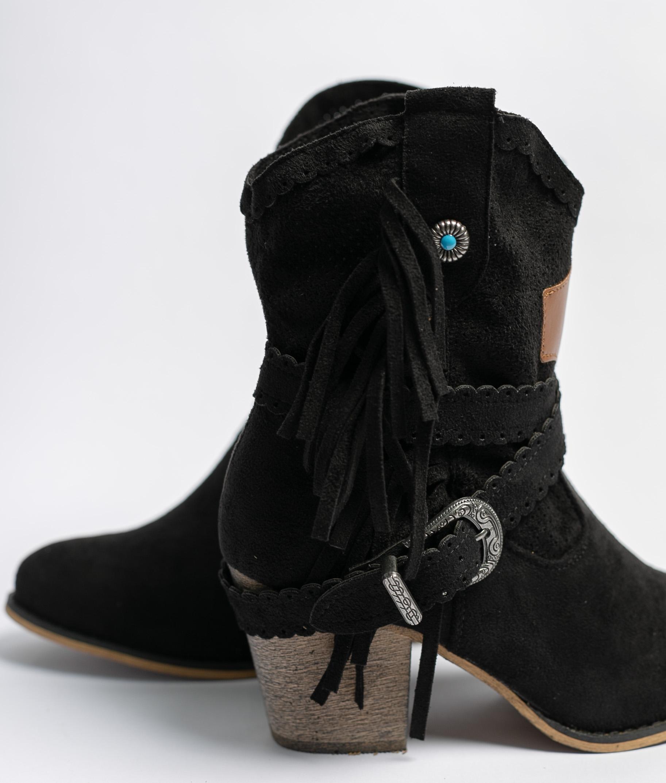 Bemus Low Boot - Black