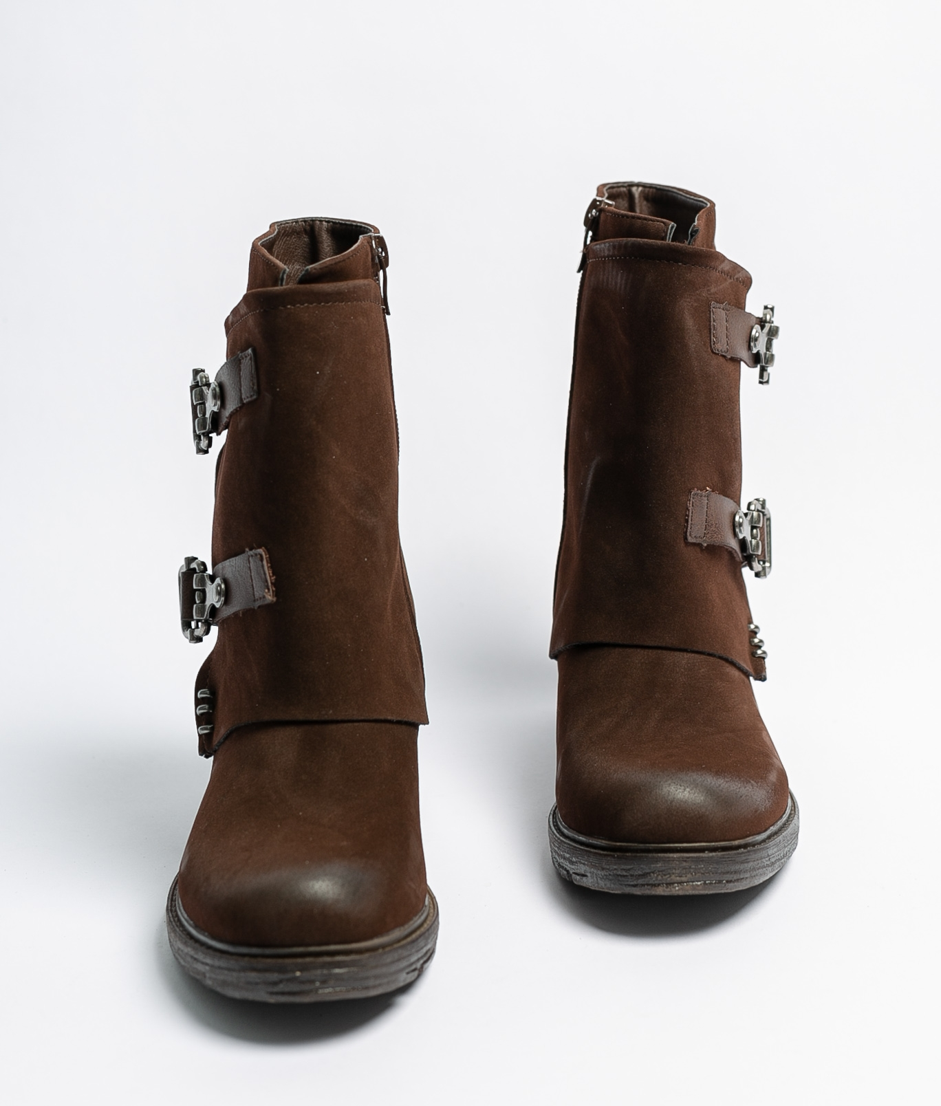 Disis Low Boot - Brown