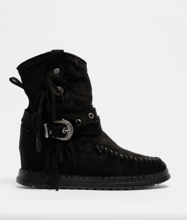 Elma Indianini Low Boot - Black