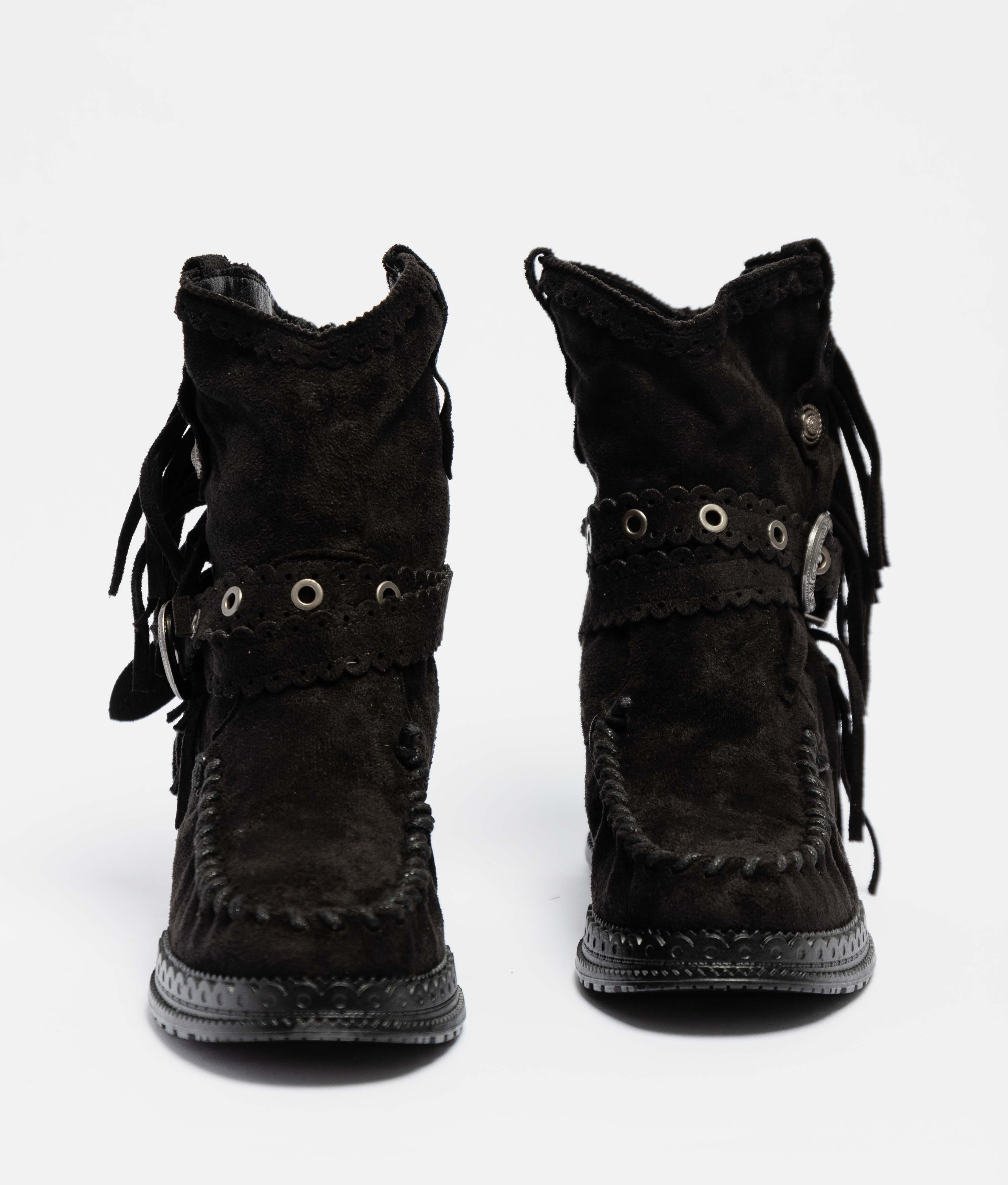 Elma Low Boot - Black