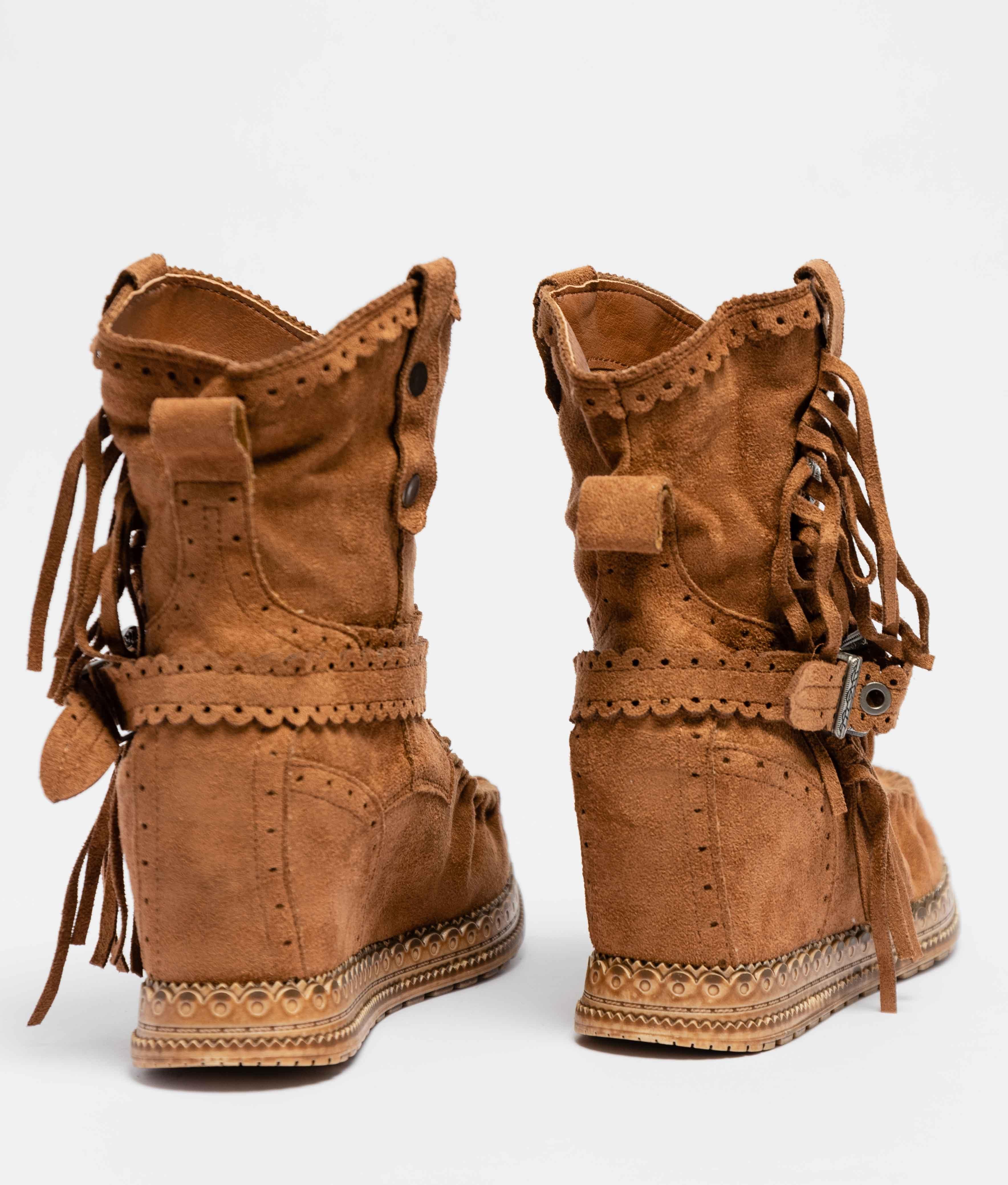 Elma Low Boot - Camel