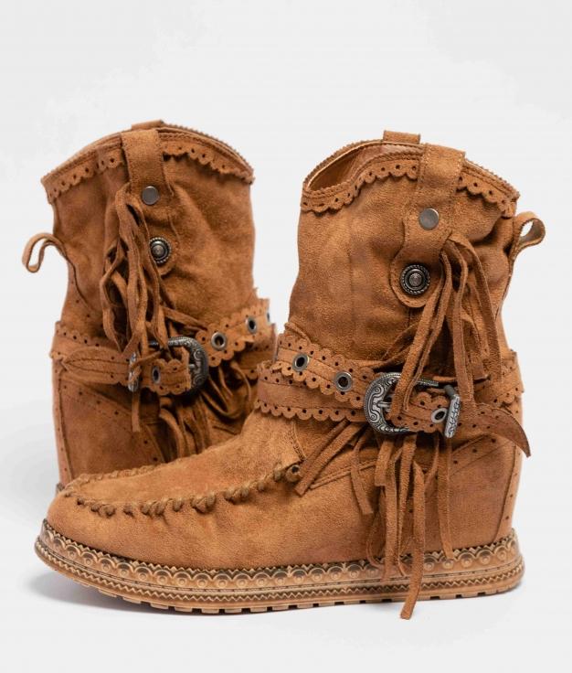 Boot Petite Indianini Elma - Chameau