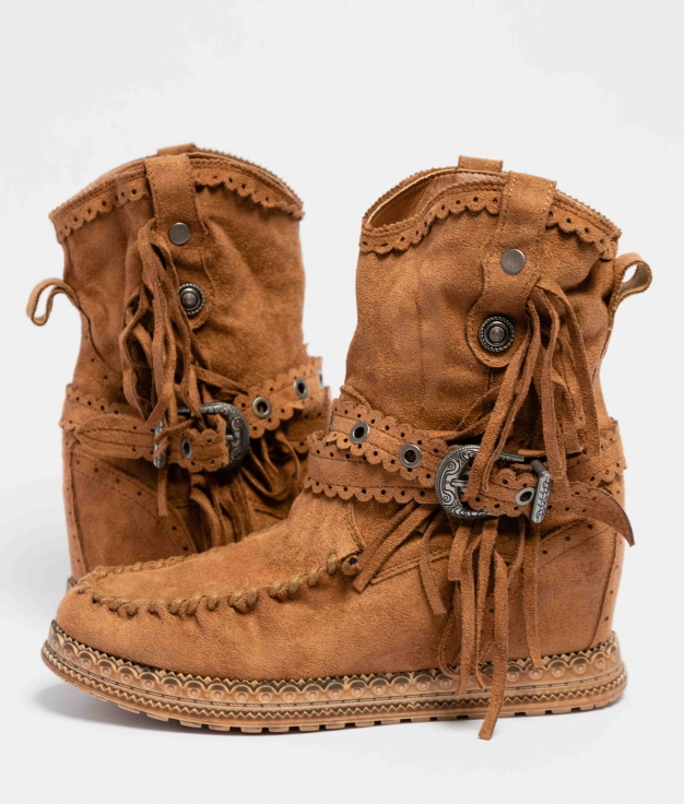 Elma Indianini Low Boot - Camel