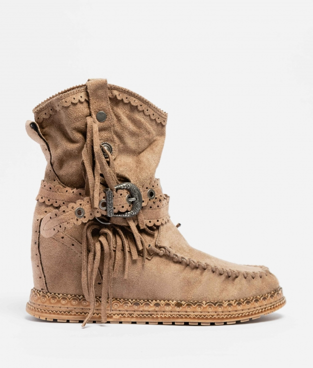Elma Indianini Low Boot - Khaki