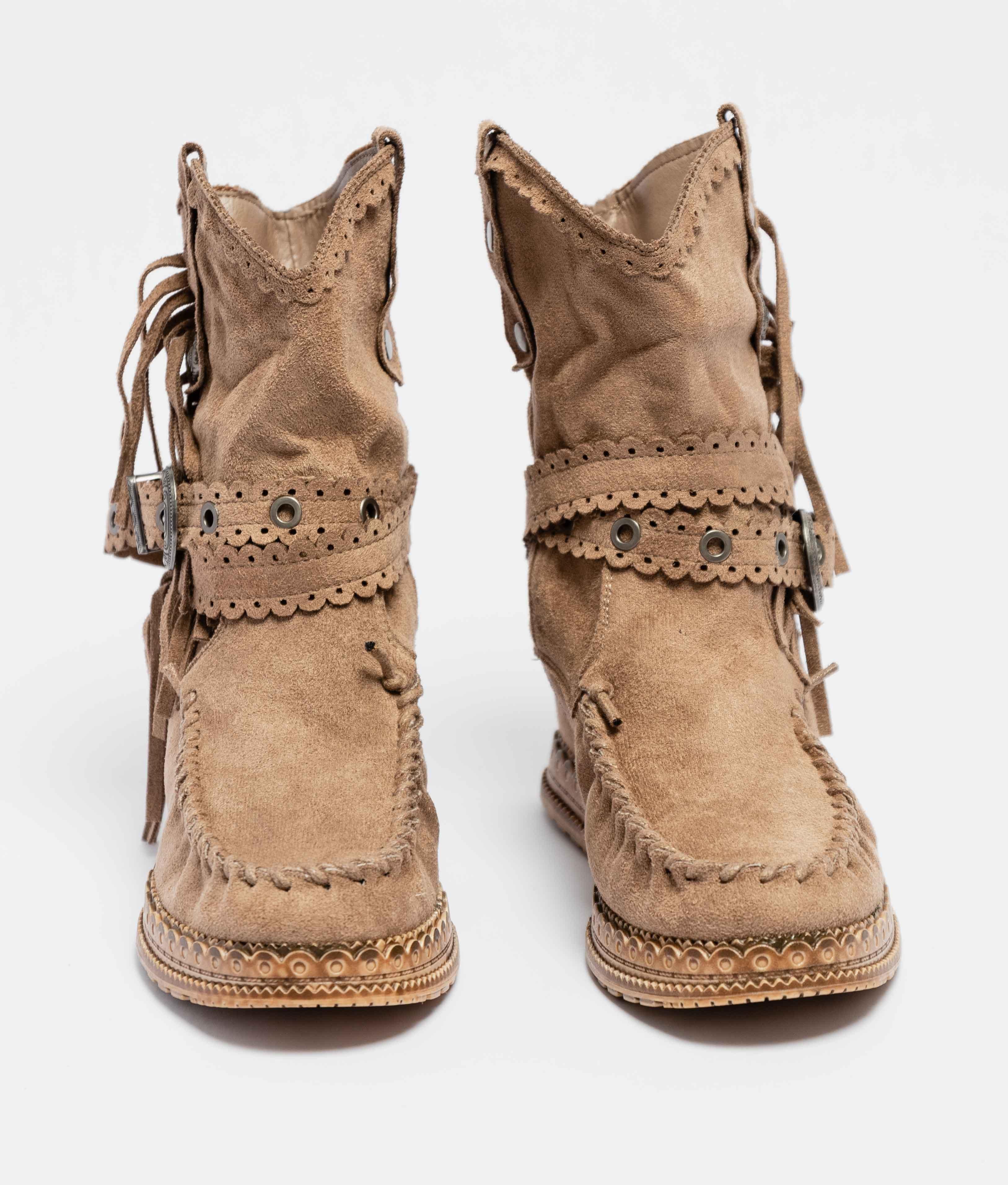 Elma Low Boot - Khaki