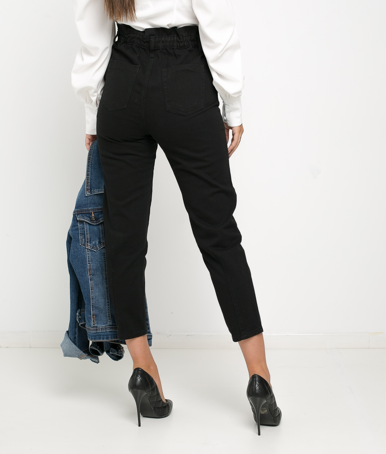 CLEVE TROUSERS - BLACK