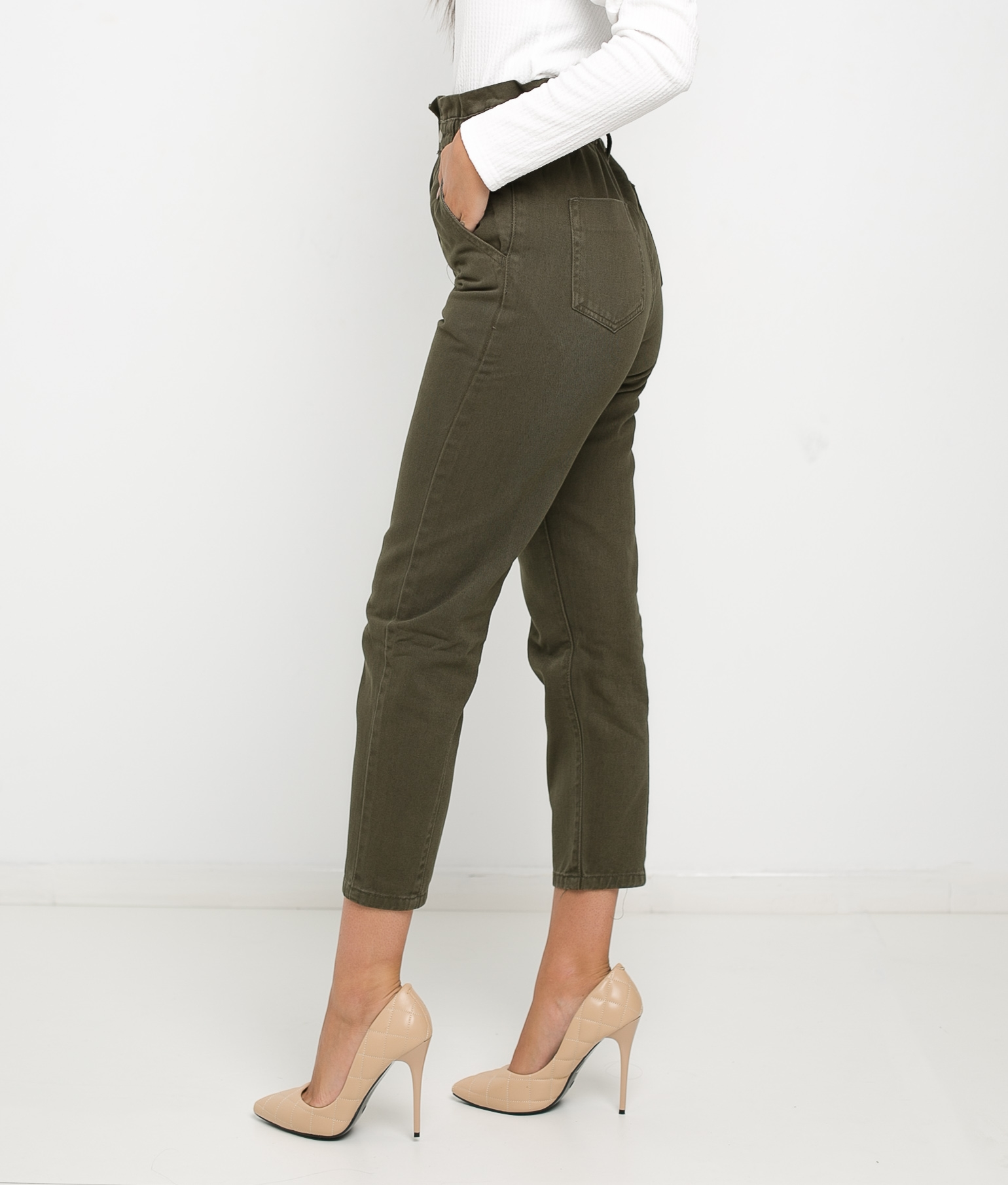 CLEVE TROUSERS - KHAKI