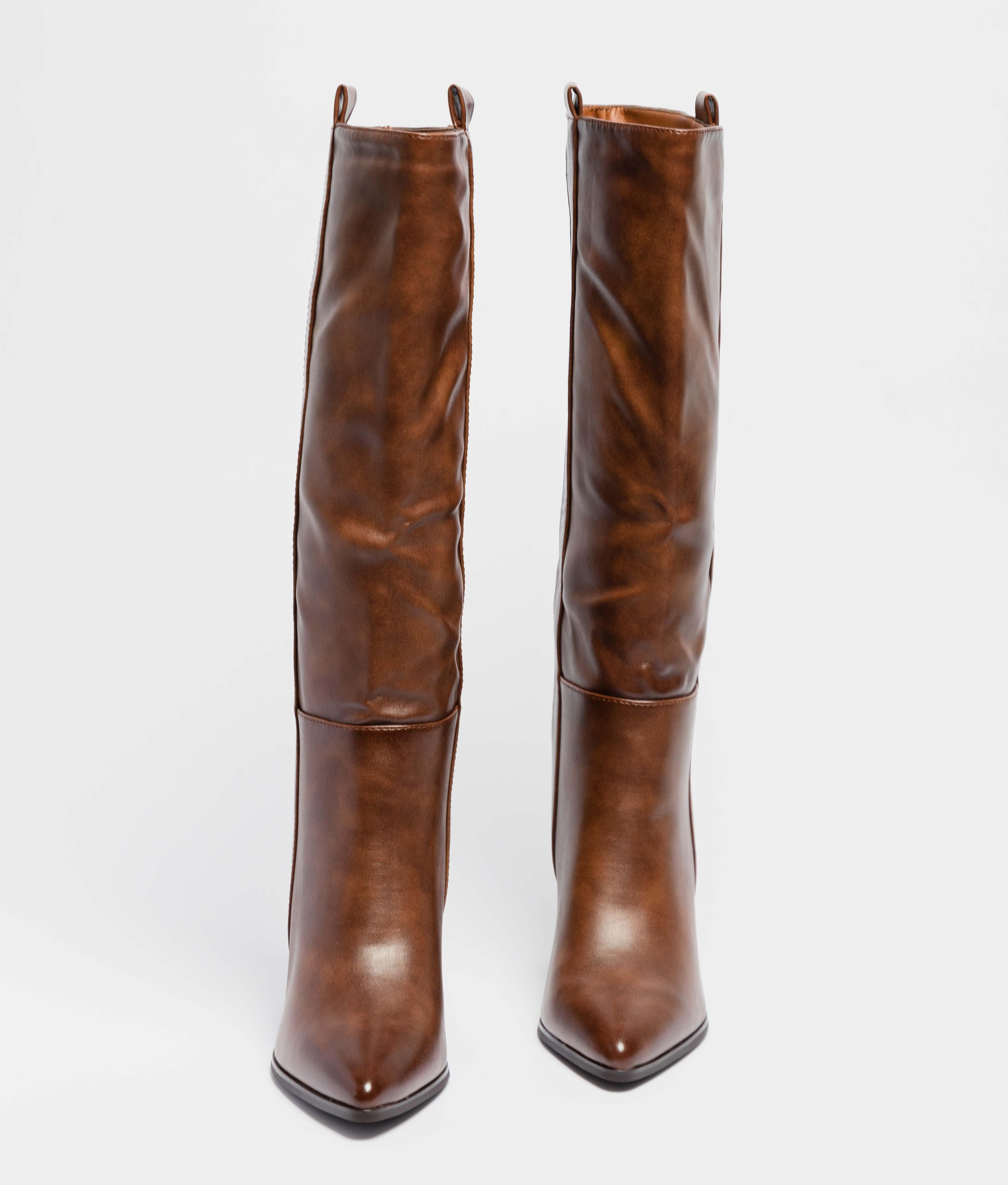 Knee-Lenght Boot Yania - Camel