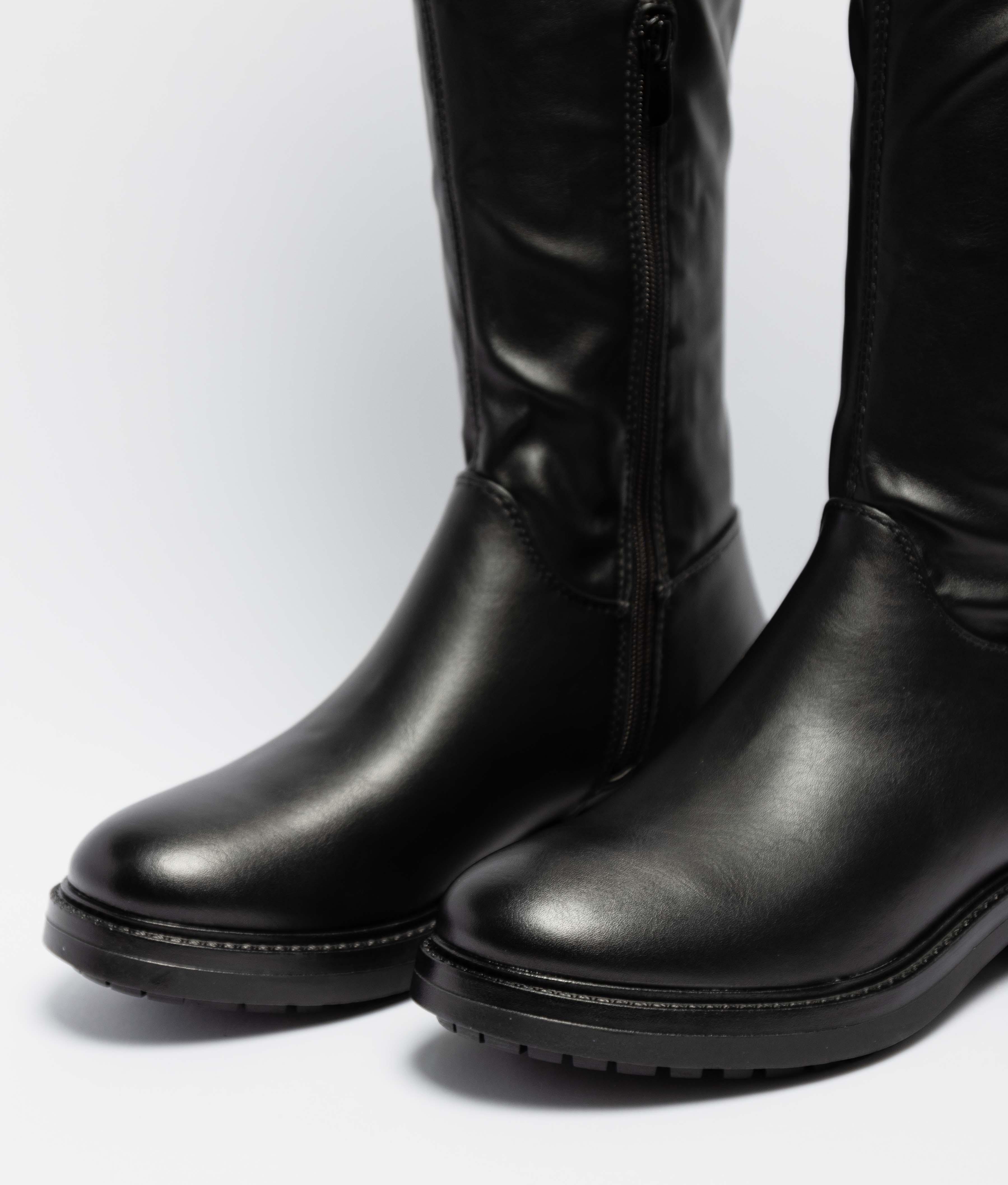 Knee-Length Boot Lesta - Black