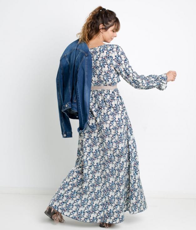 DRESS LAYKA - BLUE