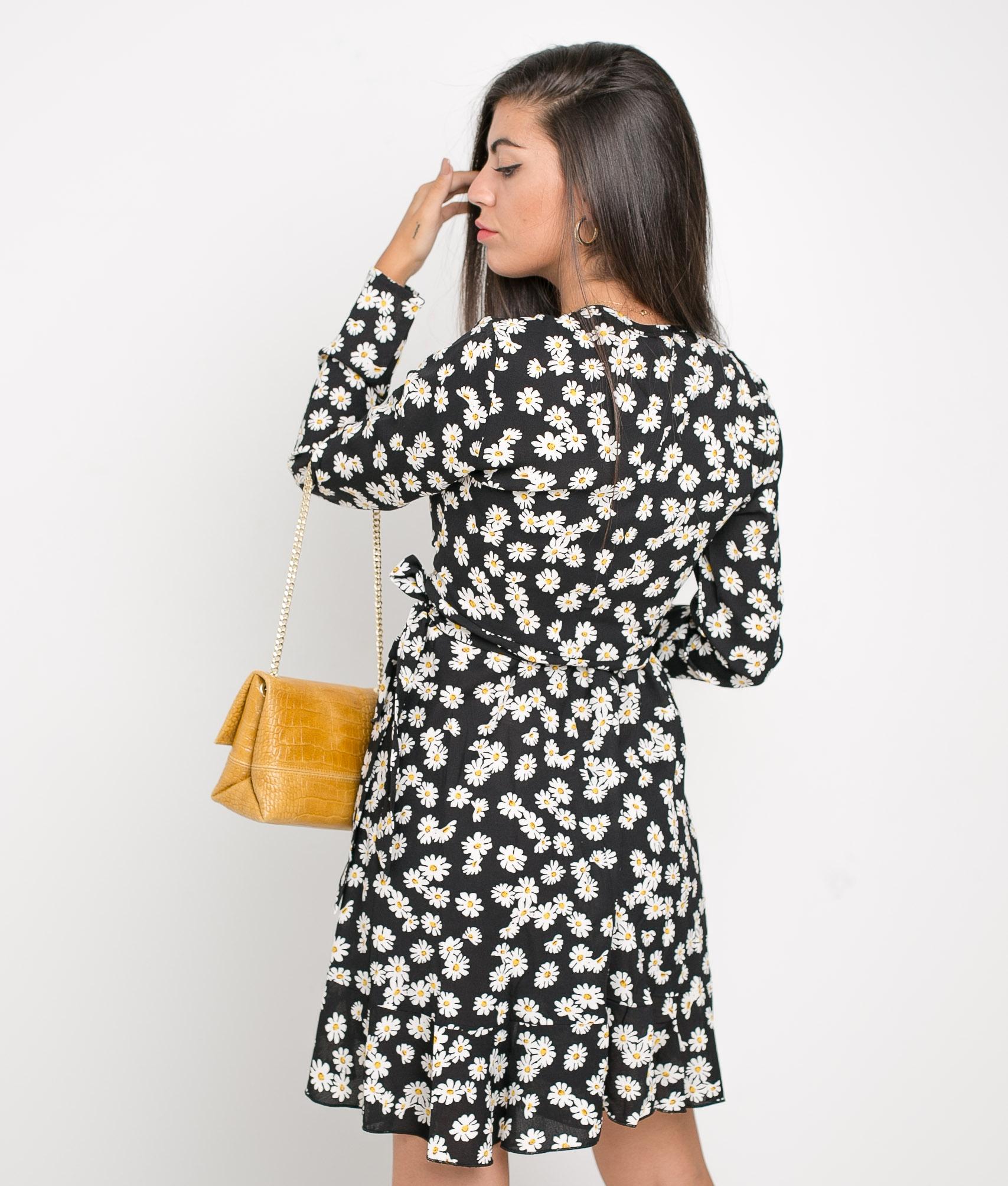 DRESS TAMIRA - BLACK