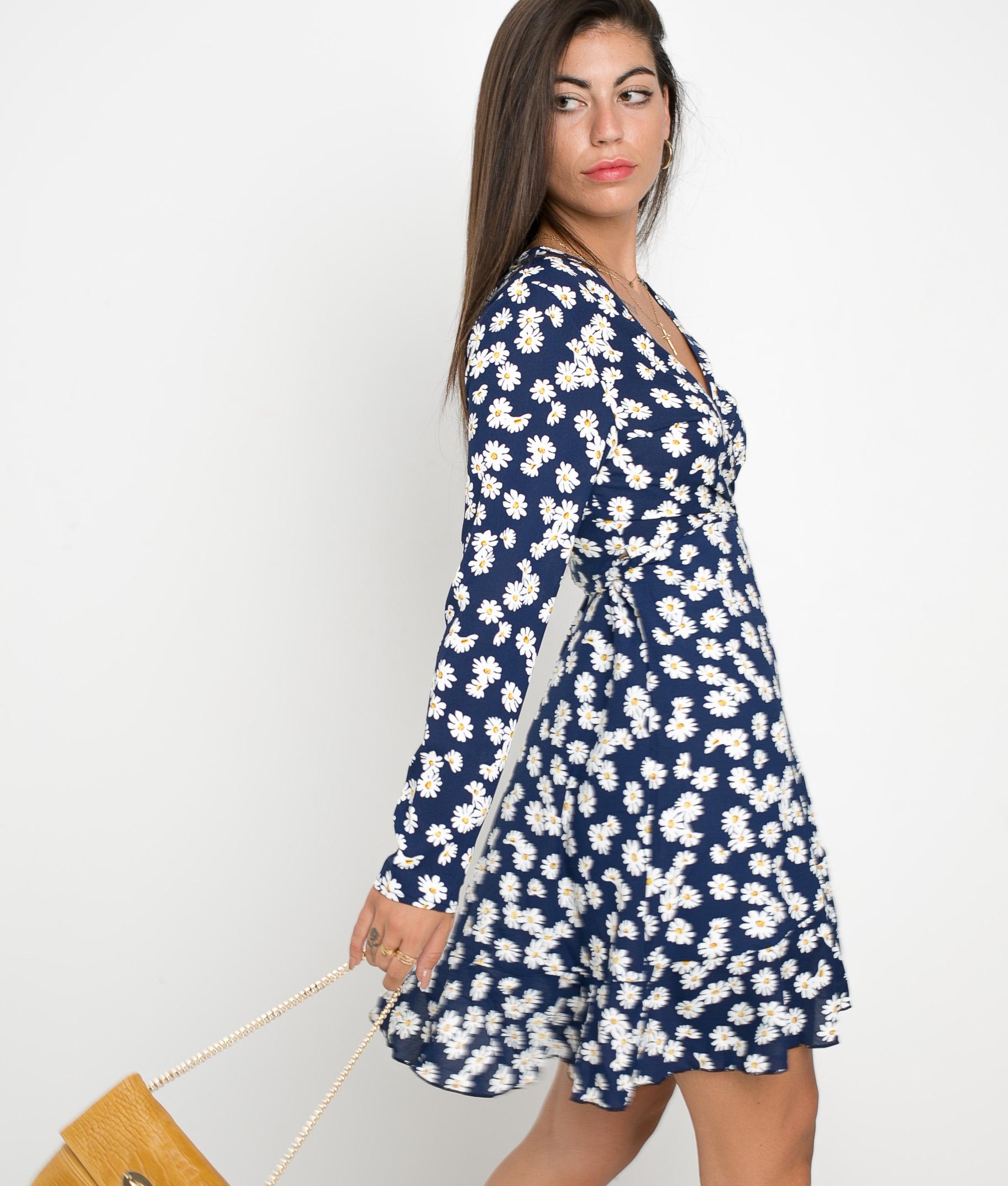 DRESS TAMIRA - BLUE