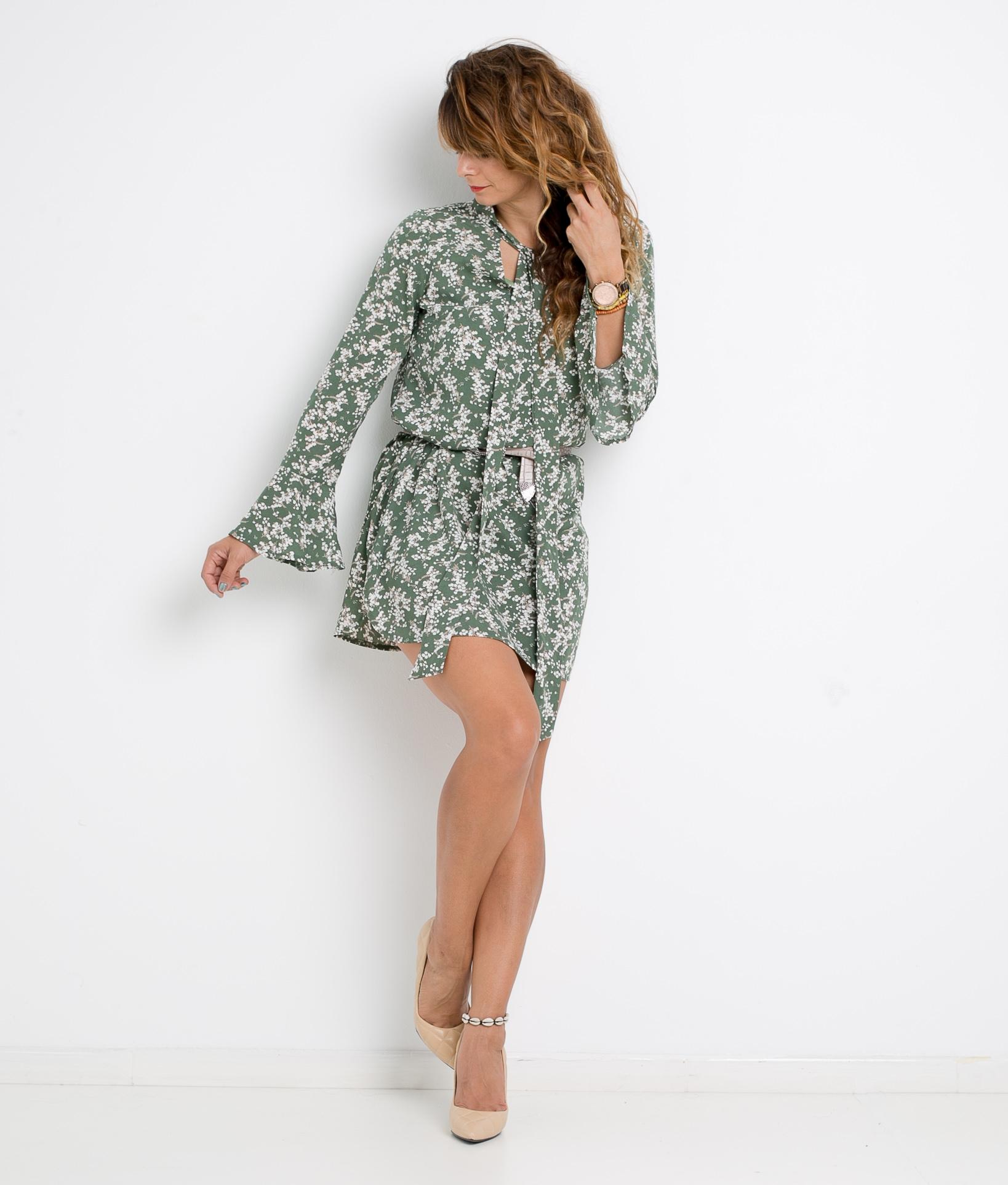 DRESS MILANA - GREEN