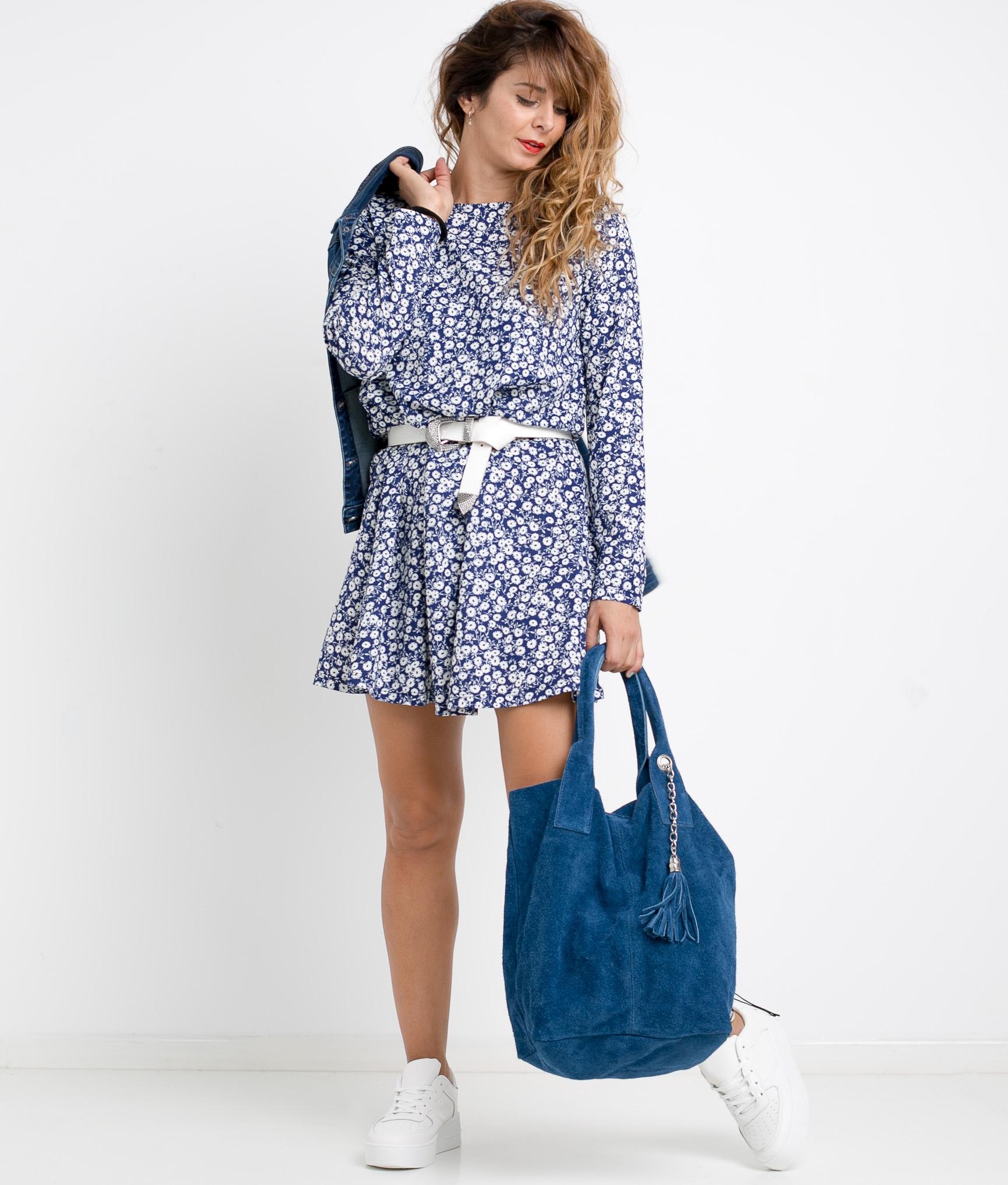 DRESS LURIA - BLUE