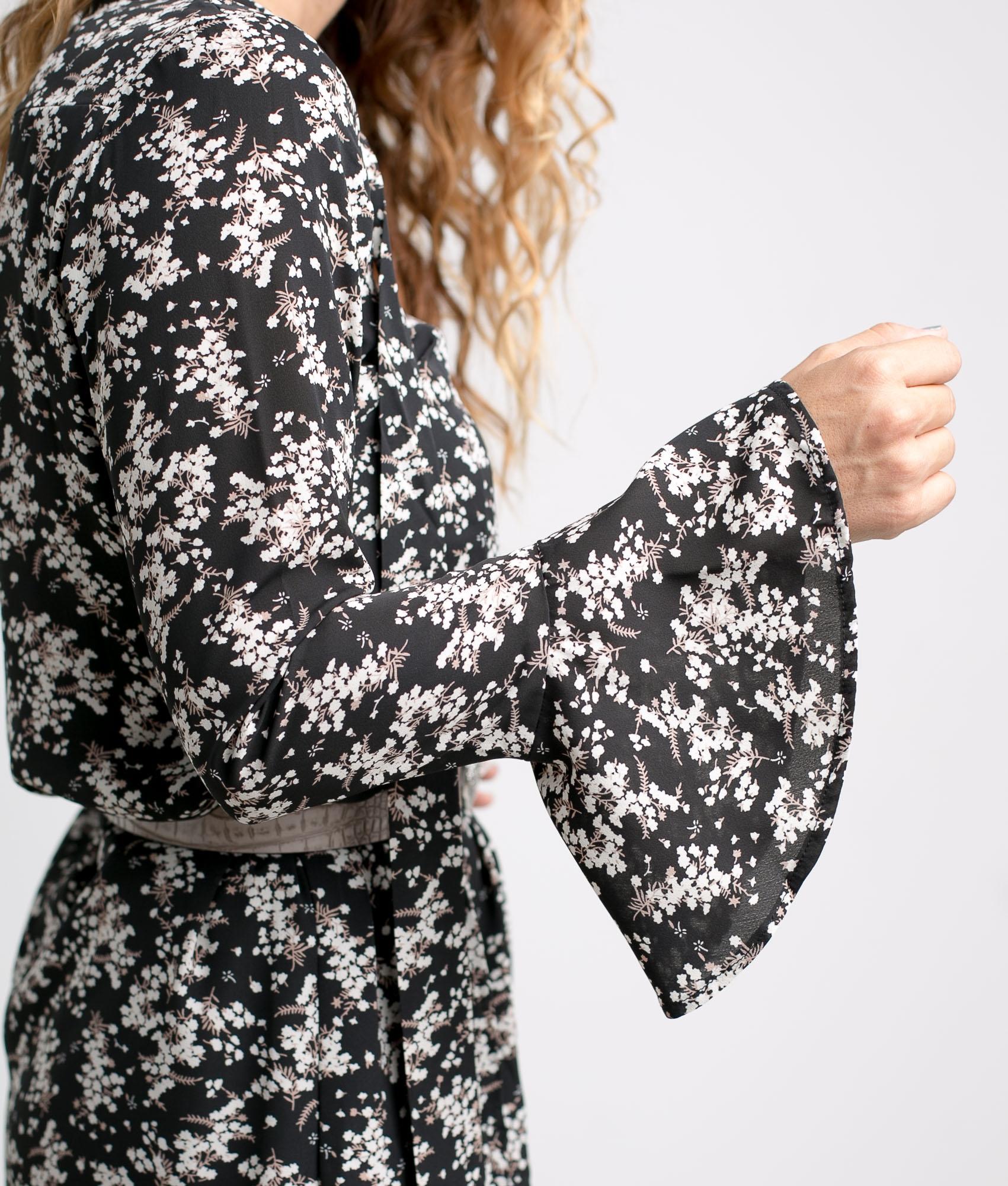 DRESS MILANA - BLACK