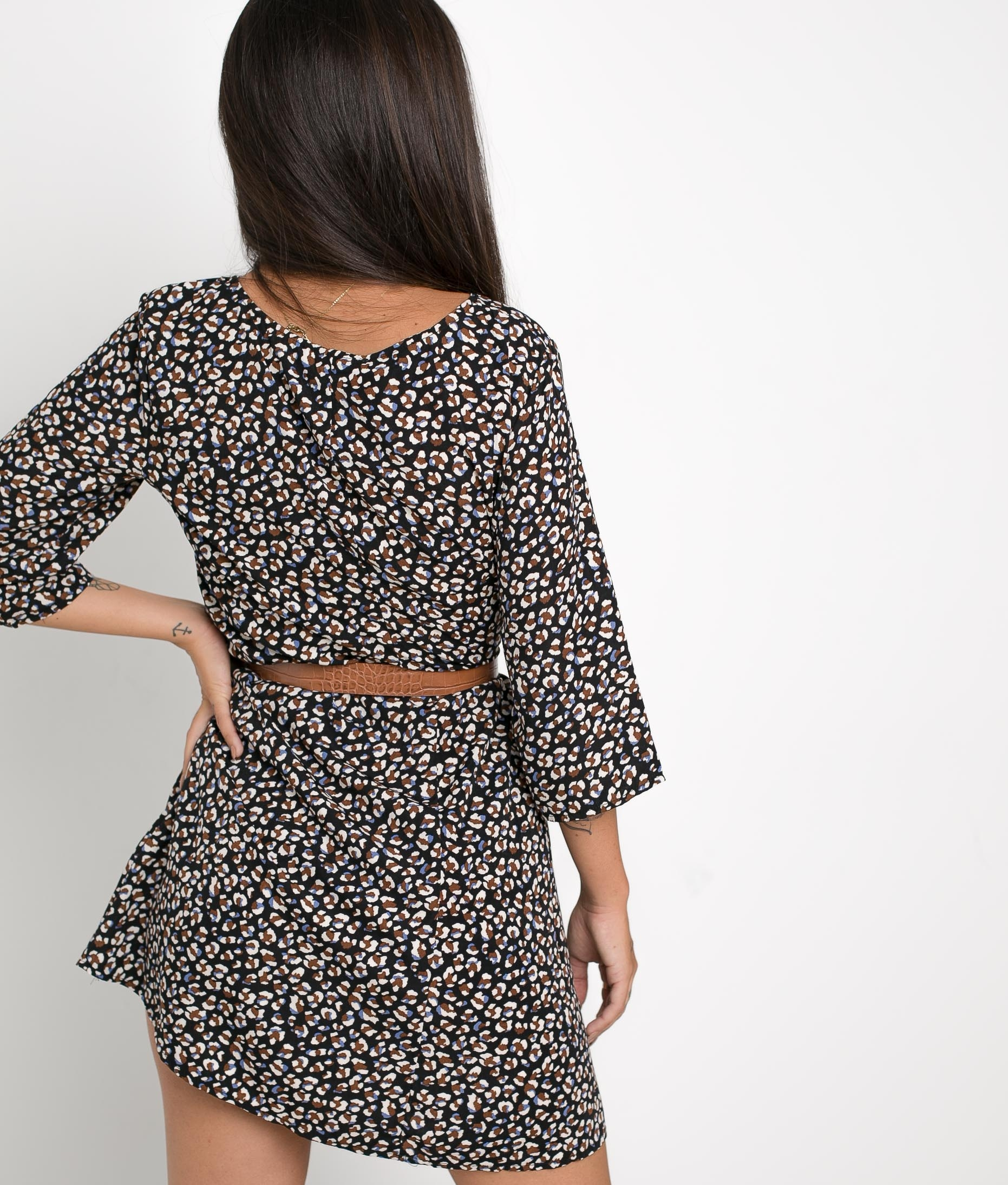DRESS FELINA - BLACK