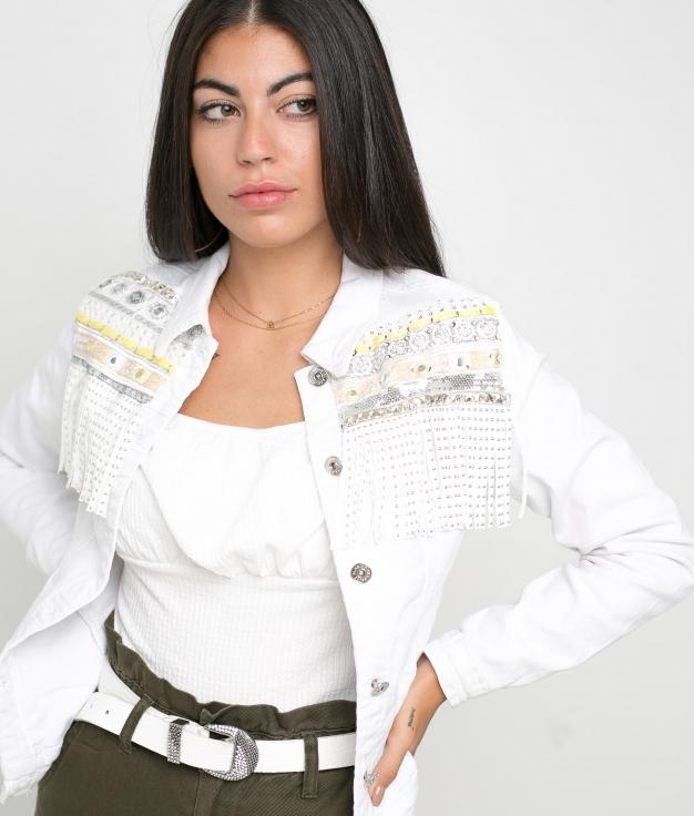Giacca Munagu - Bianco