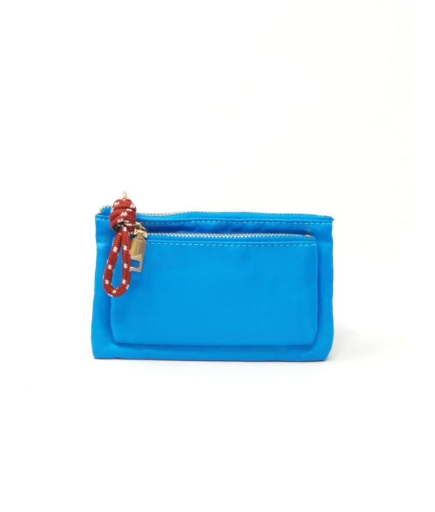 JIE PURSE - TURQUOISE BLUE