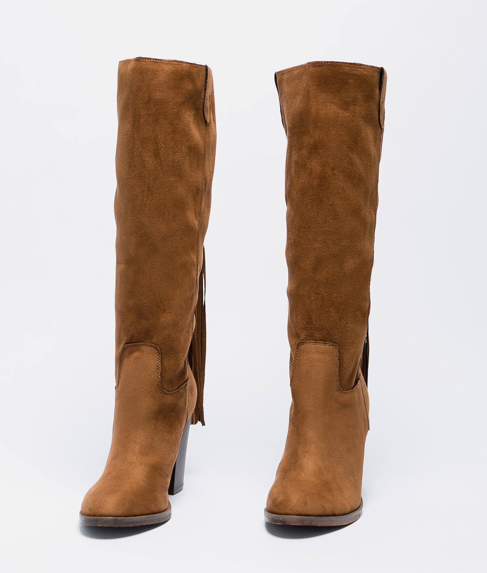 Mioma Knee-Length Boot - Camel
