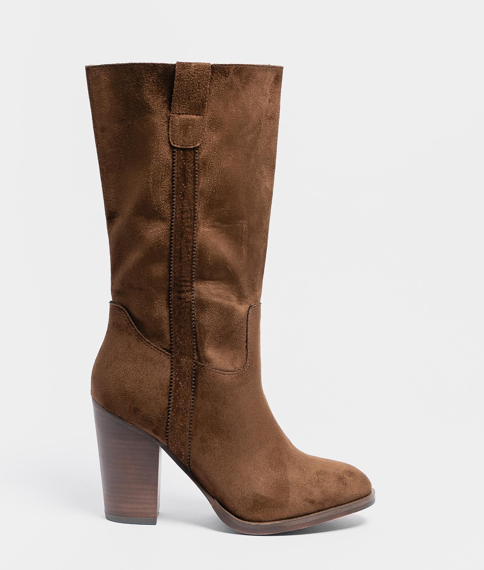 Arilia Knee-Length Boot - Coffe