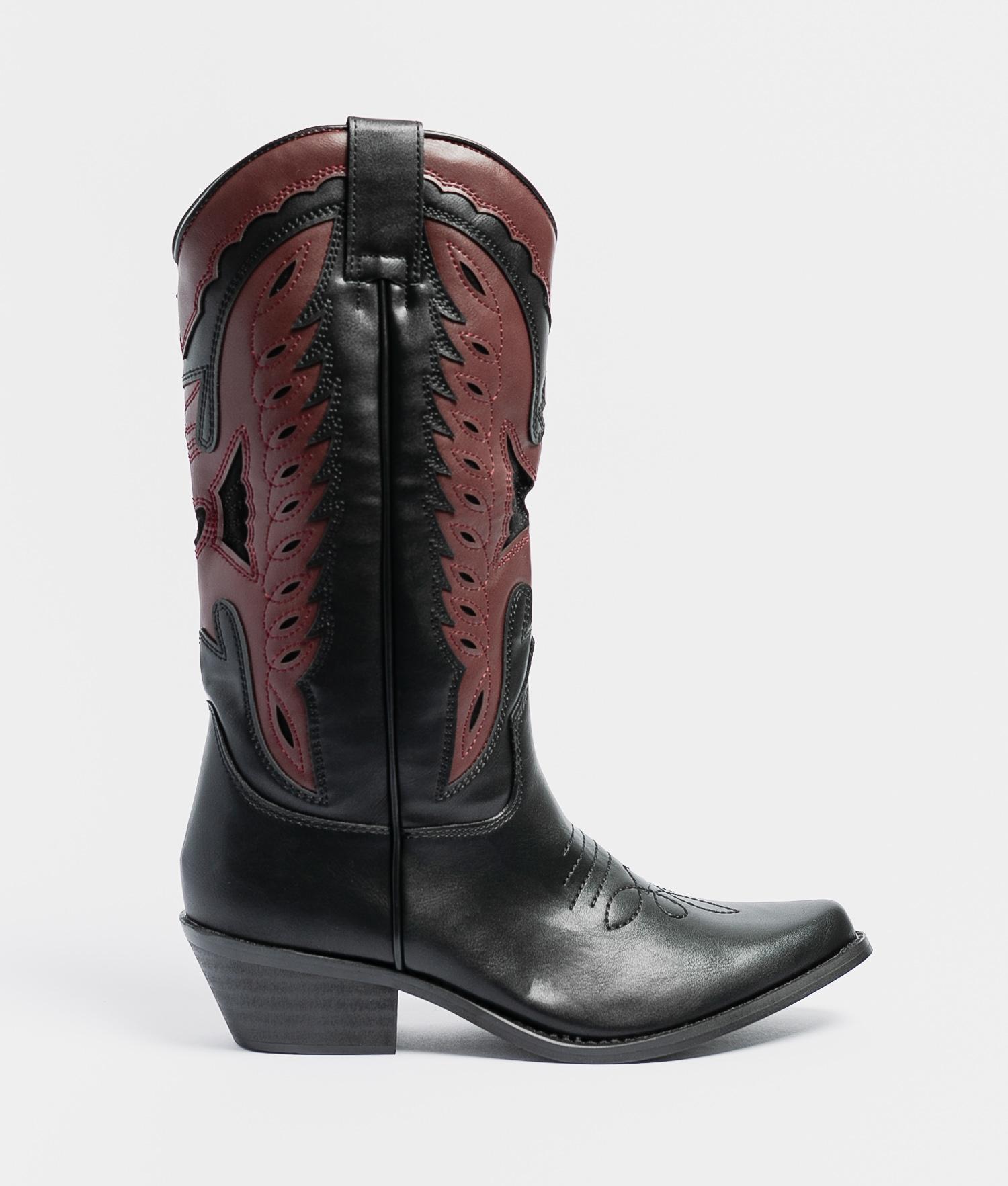 Callia Knee-Length Boot - Black