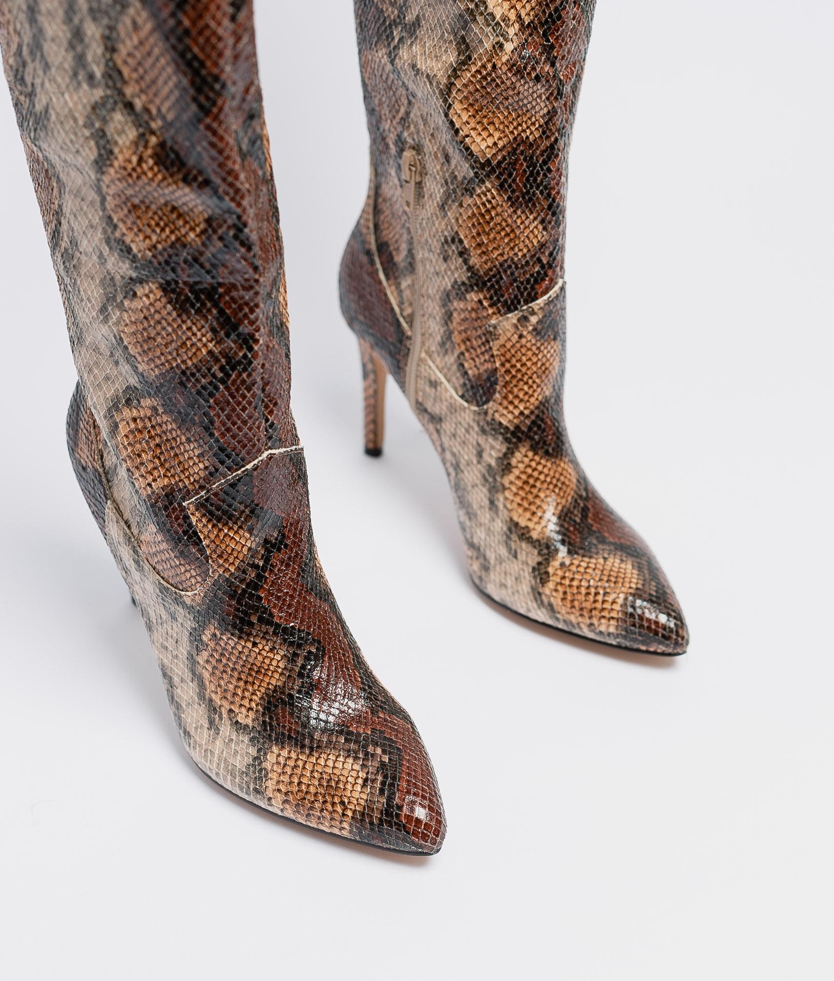 Botte Cuissarde Diante - Serpent