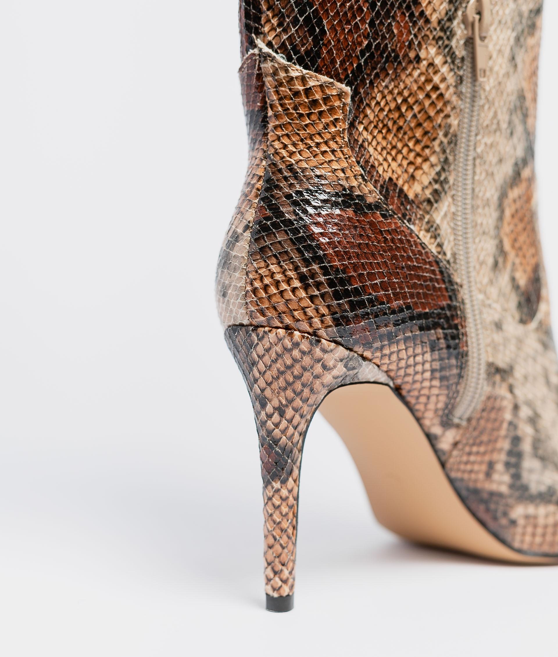 Diante Knee-Length Boot - Snake