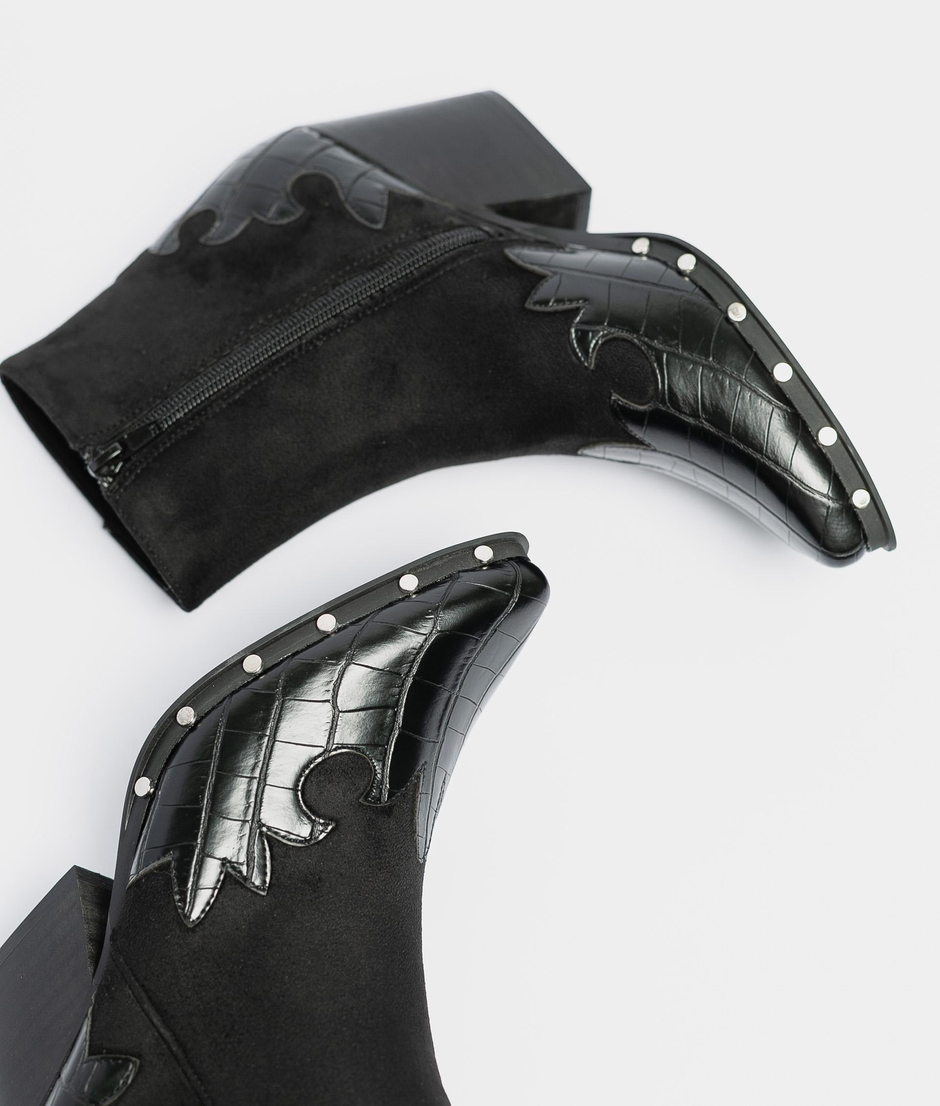 Narela Low Boot - Black
