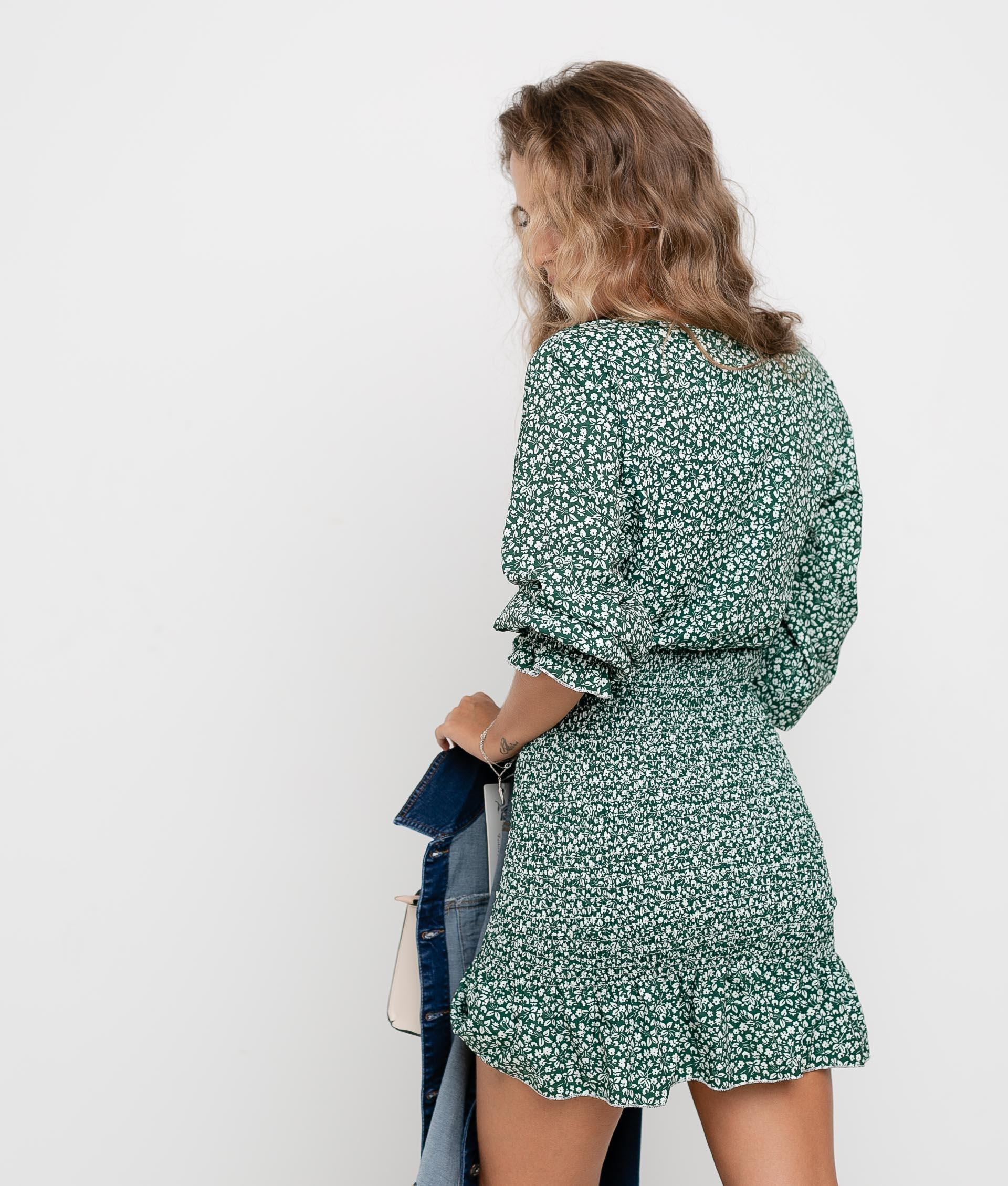 DRESS FLOSTI - GREEN
