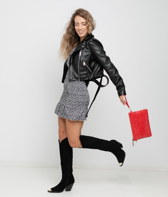 DRESS FLOSTI - BLACK
