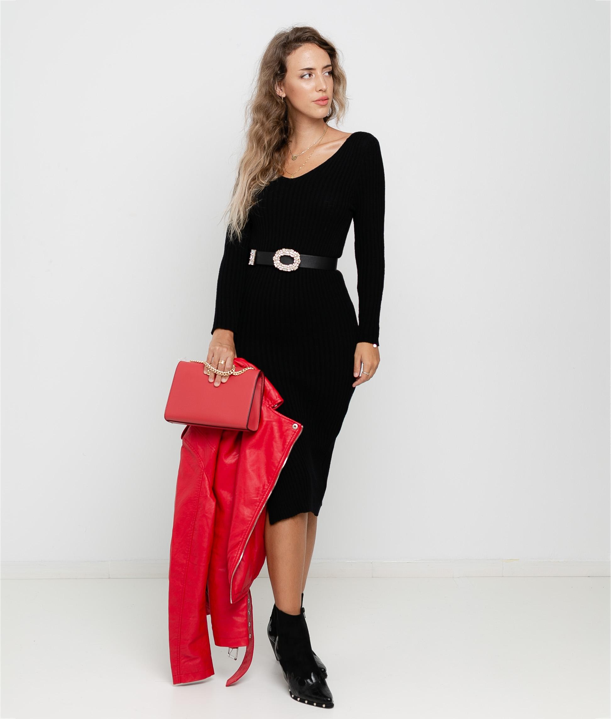 Vestido Artabi - Negro