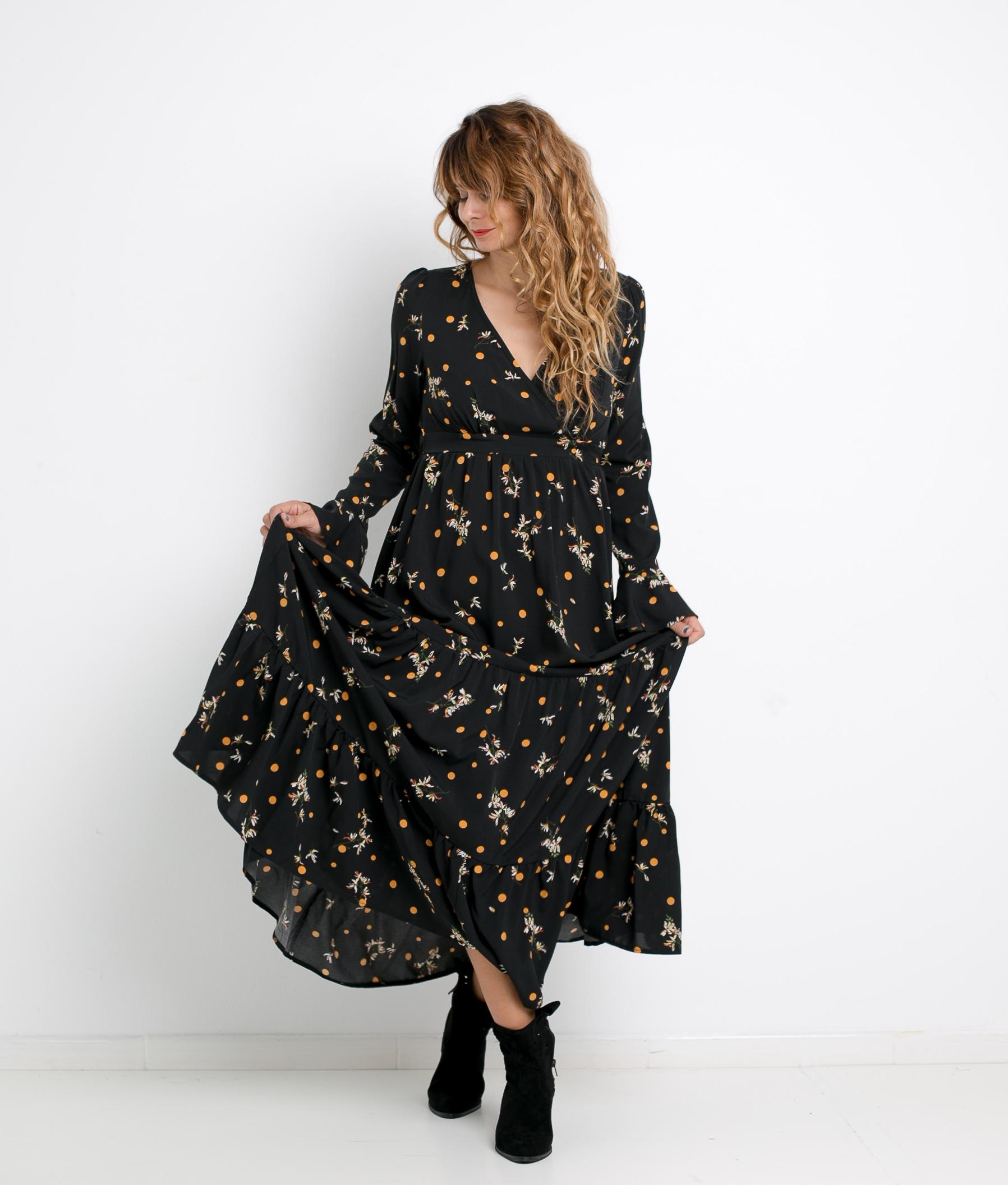 DRESS NAYLA - BLACK