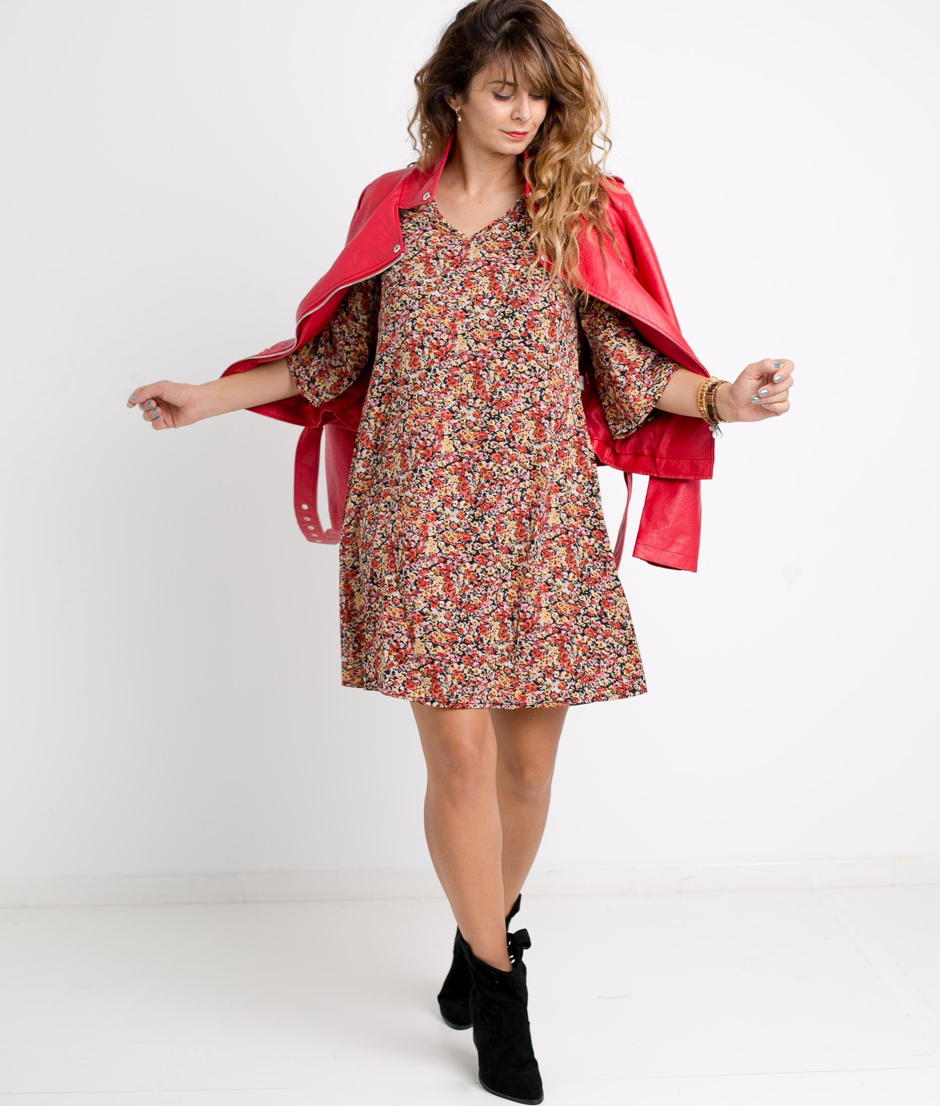 DRESS BLISA - RED
