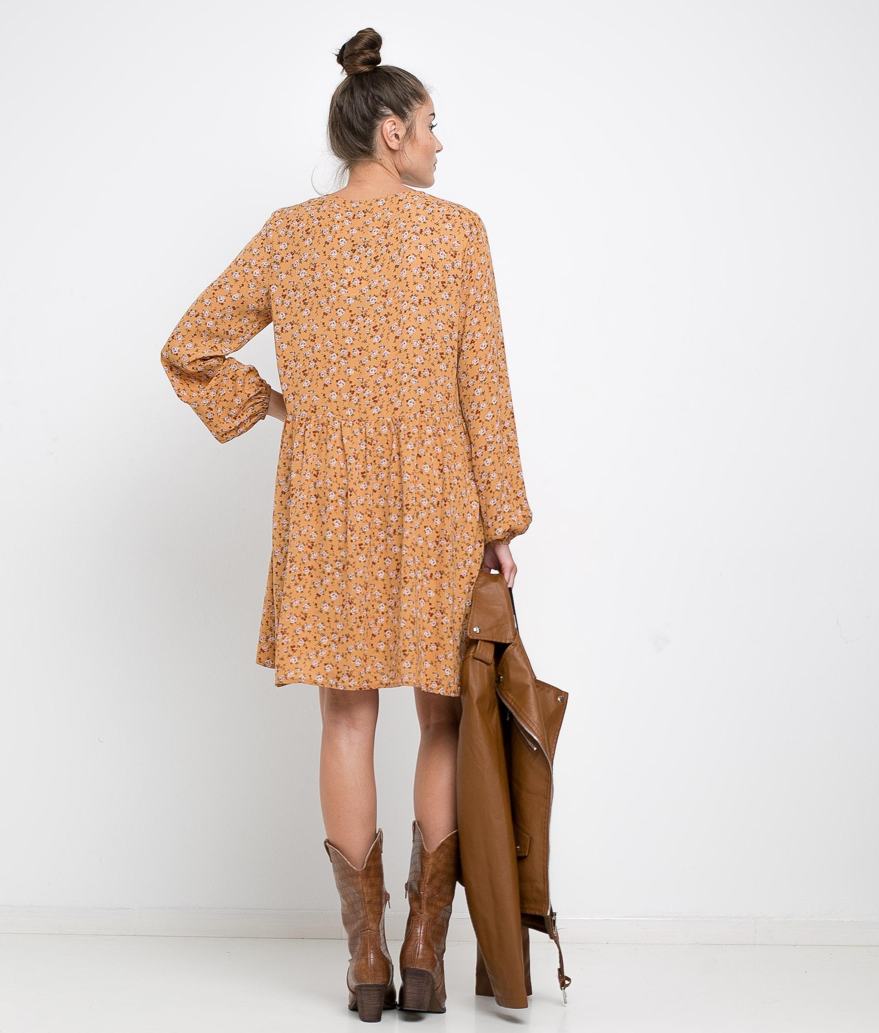 DRESS HALIN - YELLOW