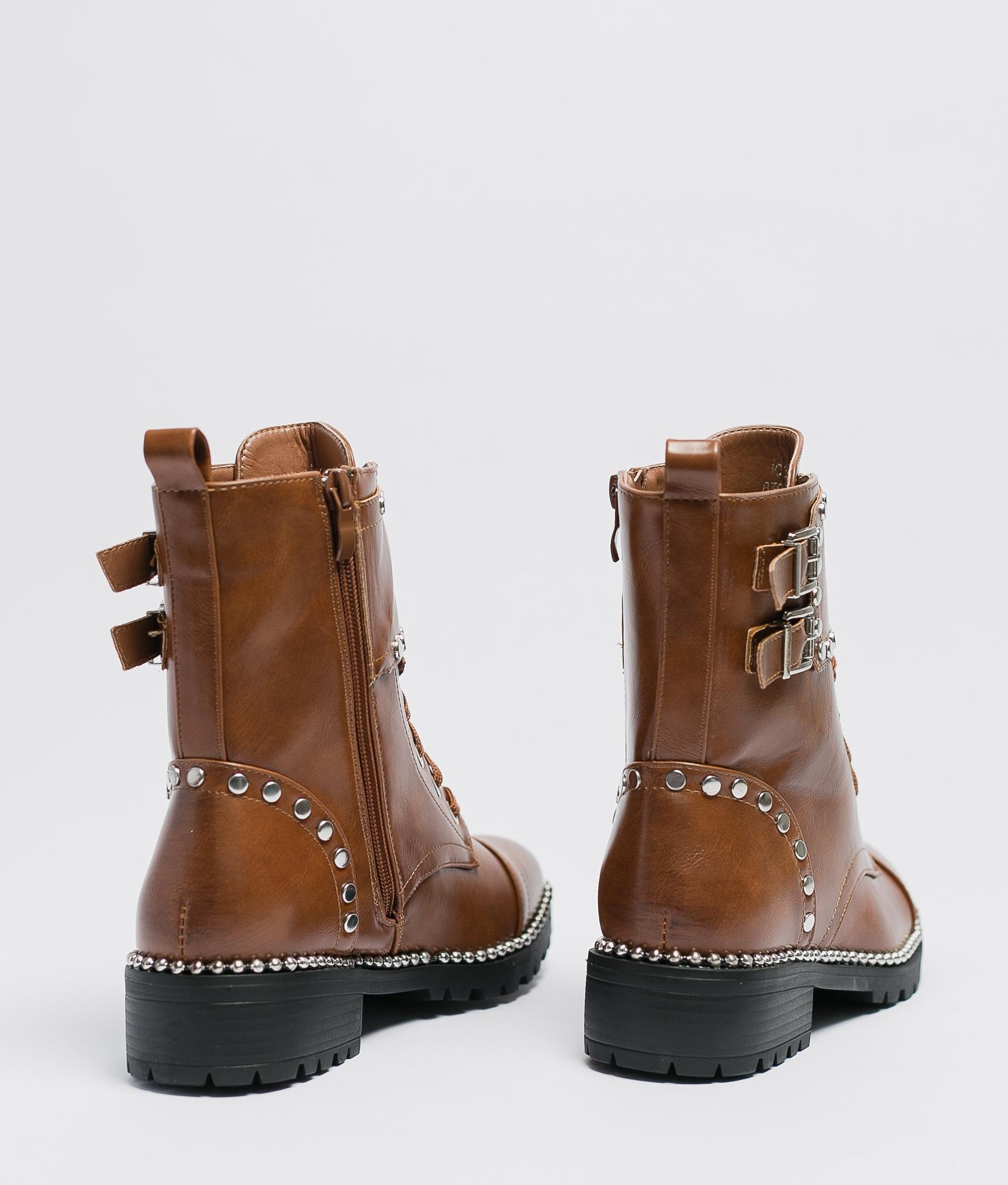 Low Boot Aurea - Camel