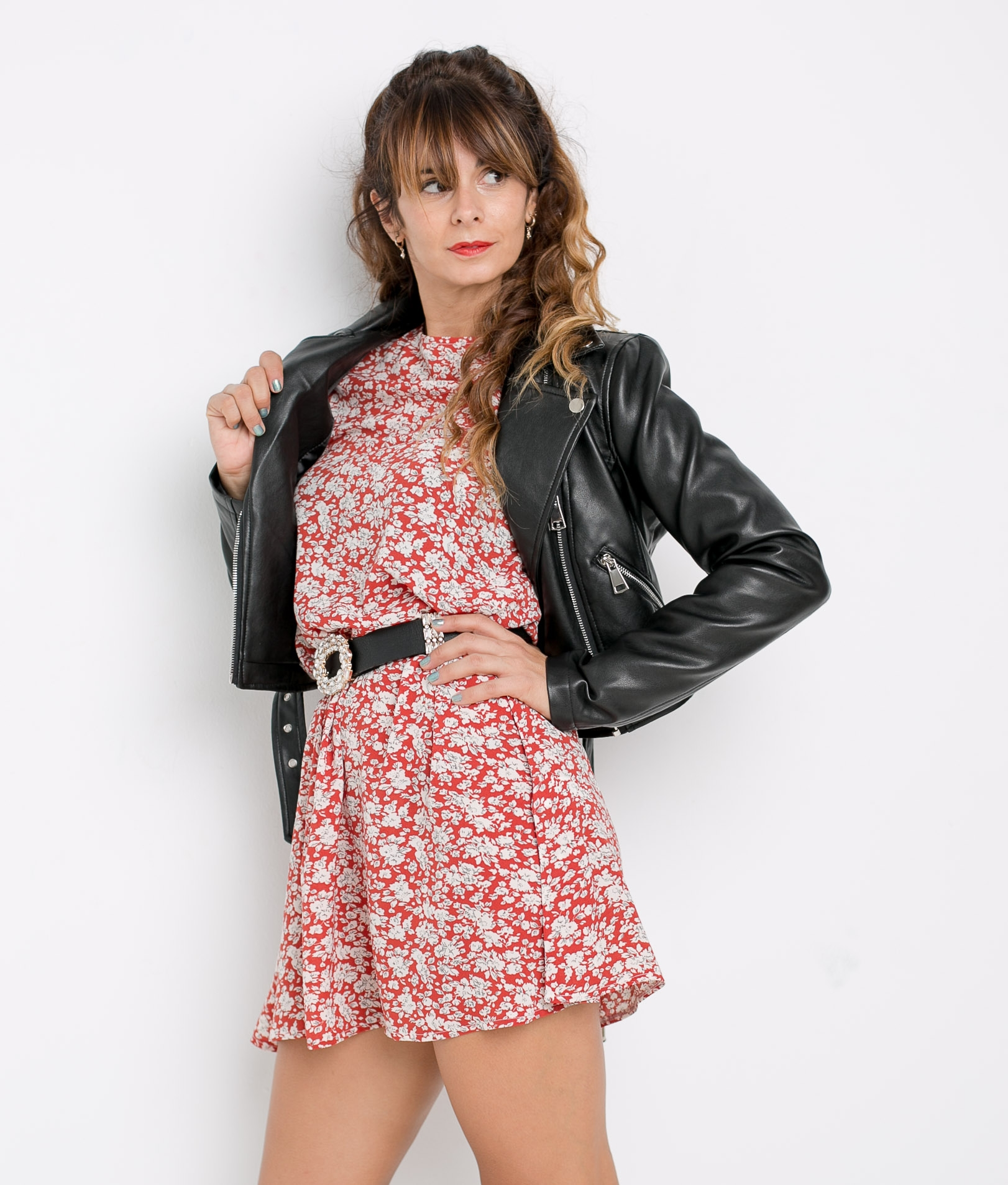 DRESS IRISA - RED