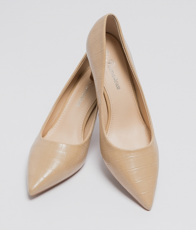 Zapato Gisele - Beige