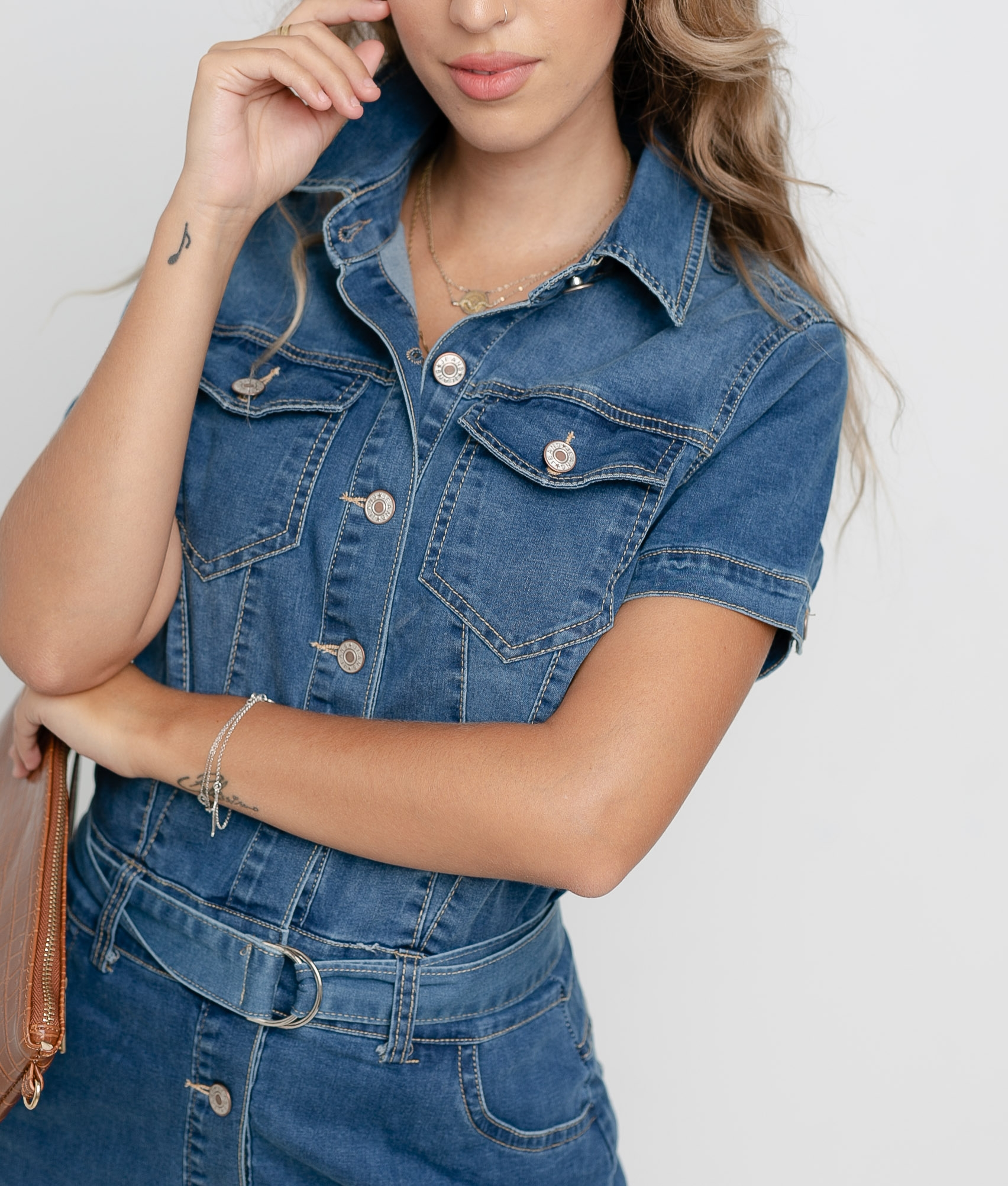 ROBE PROTES - DENIM