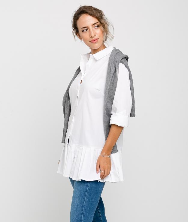 NURIBE DRESS - WHITE