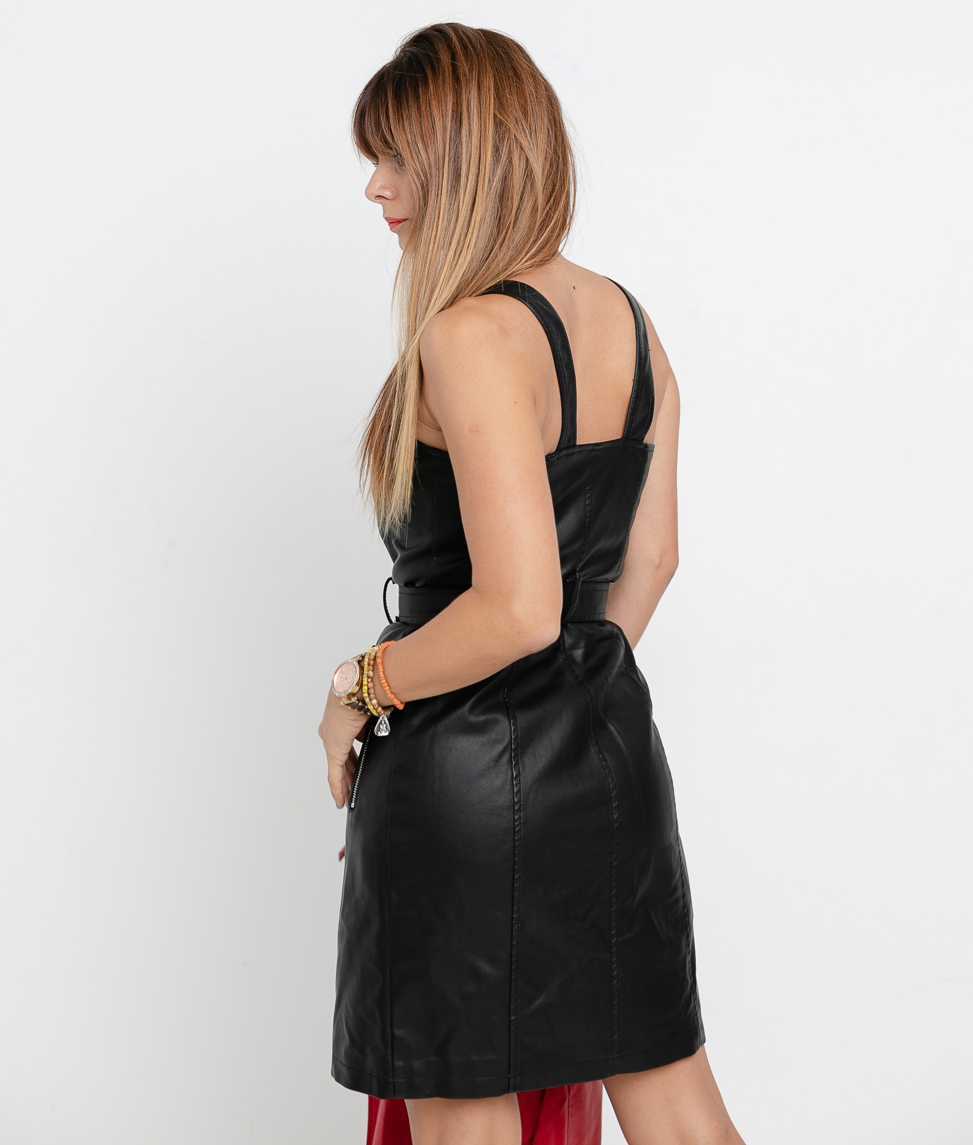 MACAIBO DRESS - BLACK