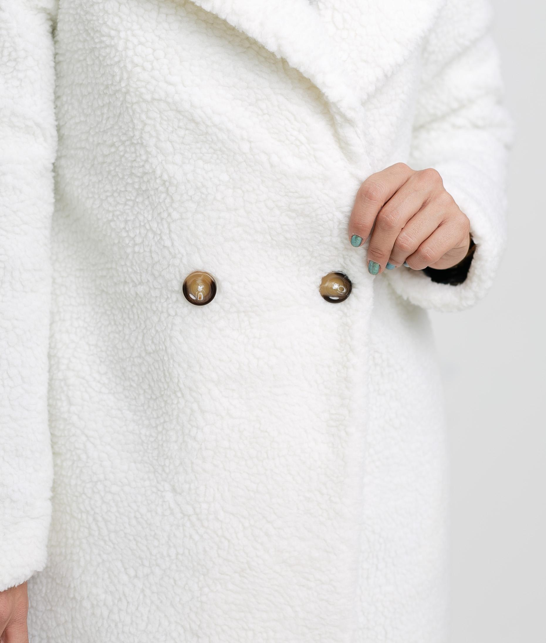 Yeita coat - White