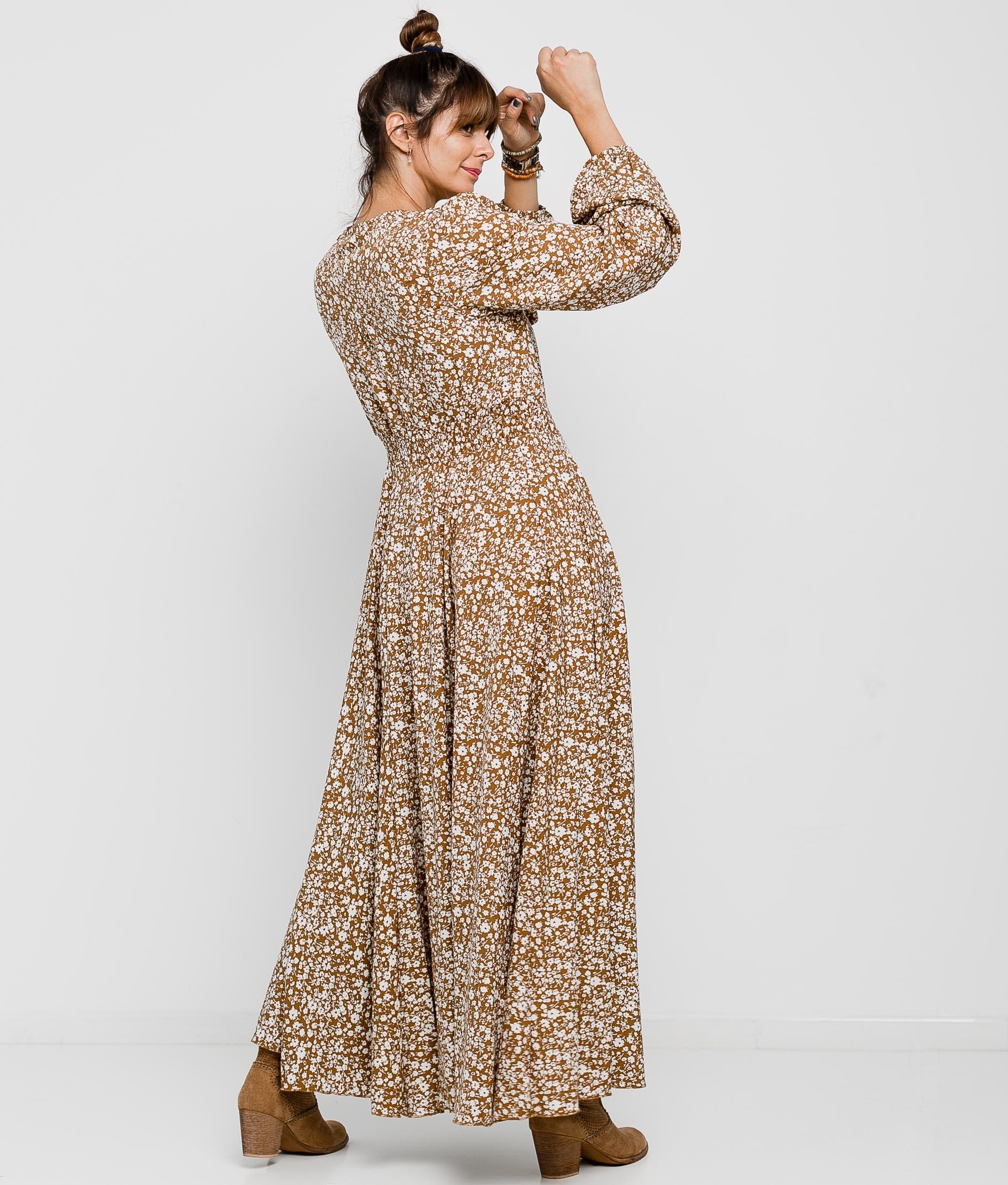 Nigiri dress - Camel