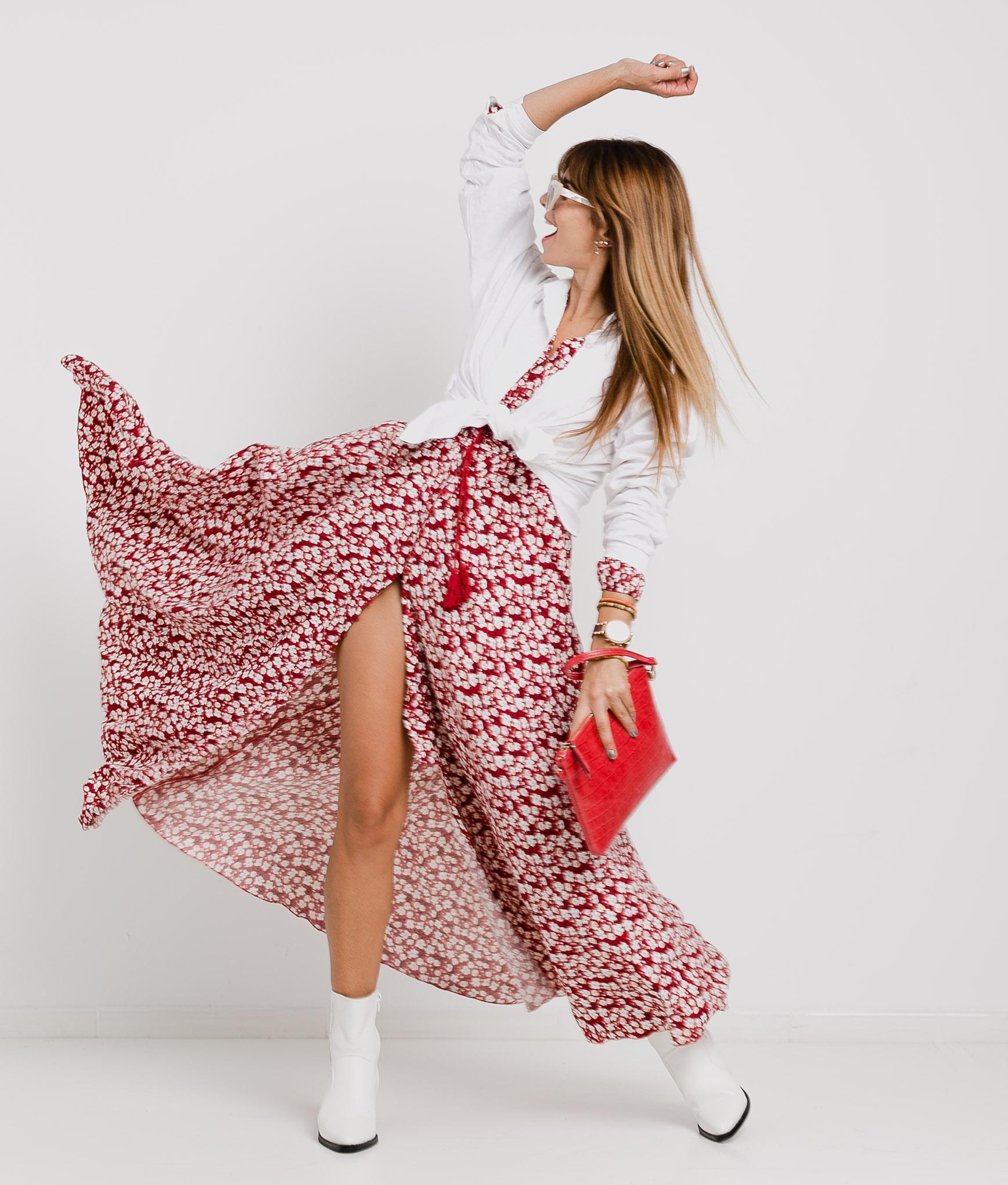 Lopina dress - Red